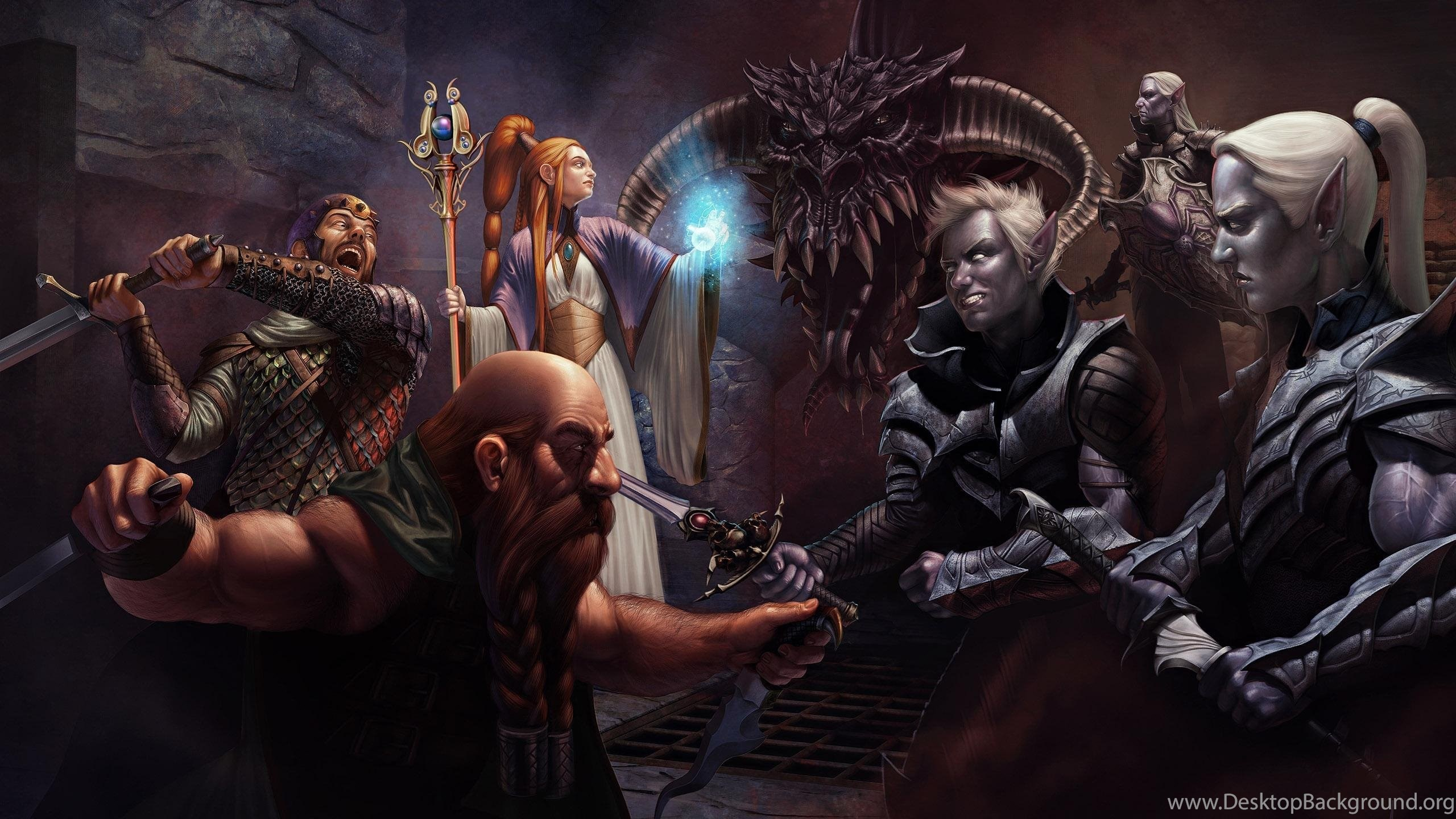 34 Dungeons Dragons Hd Wallpapers Desktop Background