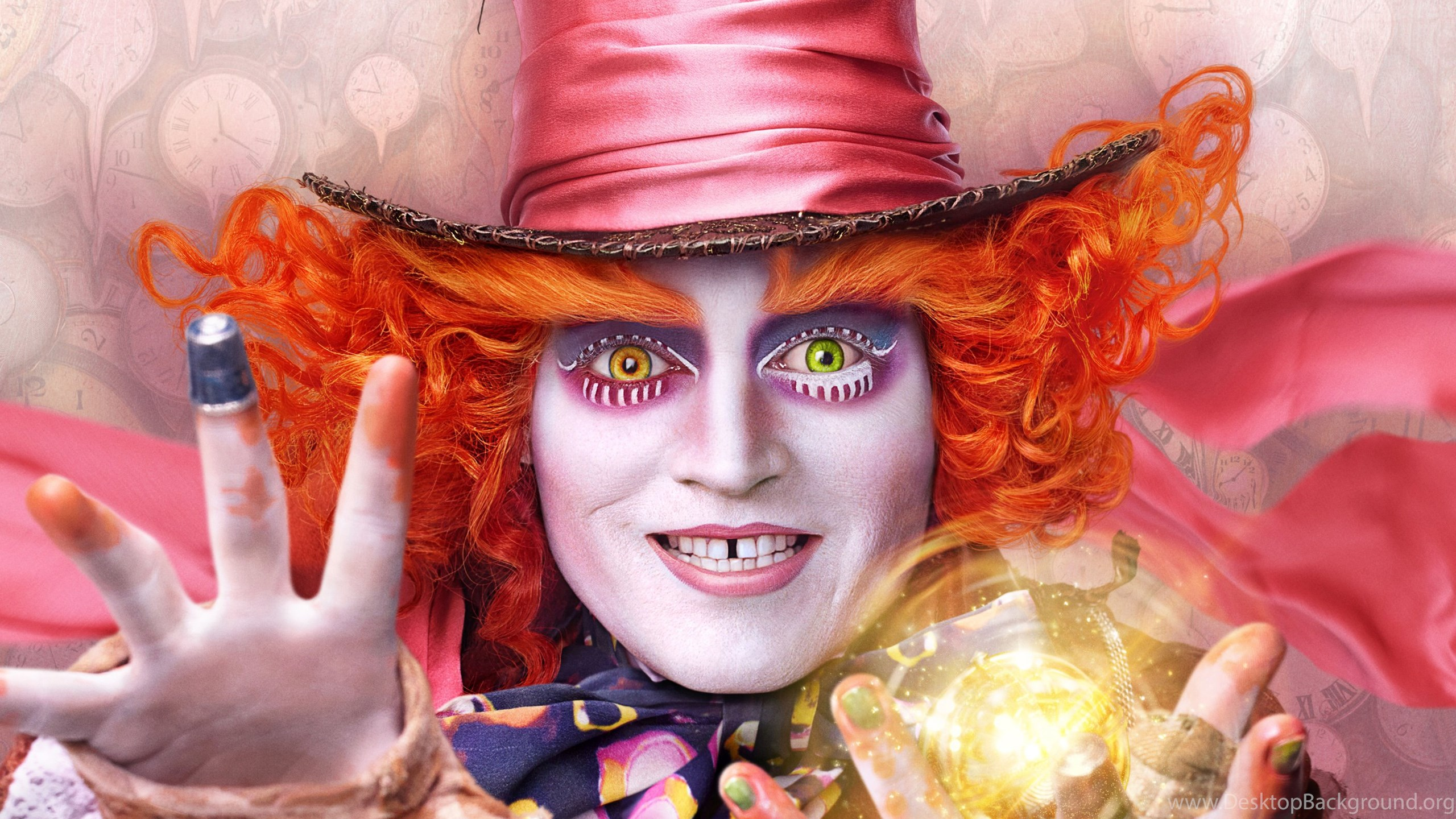Mad Hatter Alice Through The Looking Glass Wallpapers Desktop