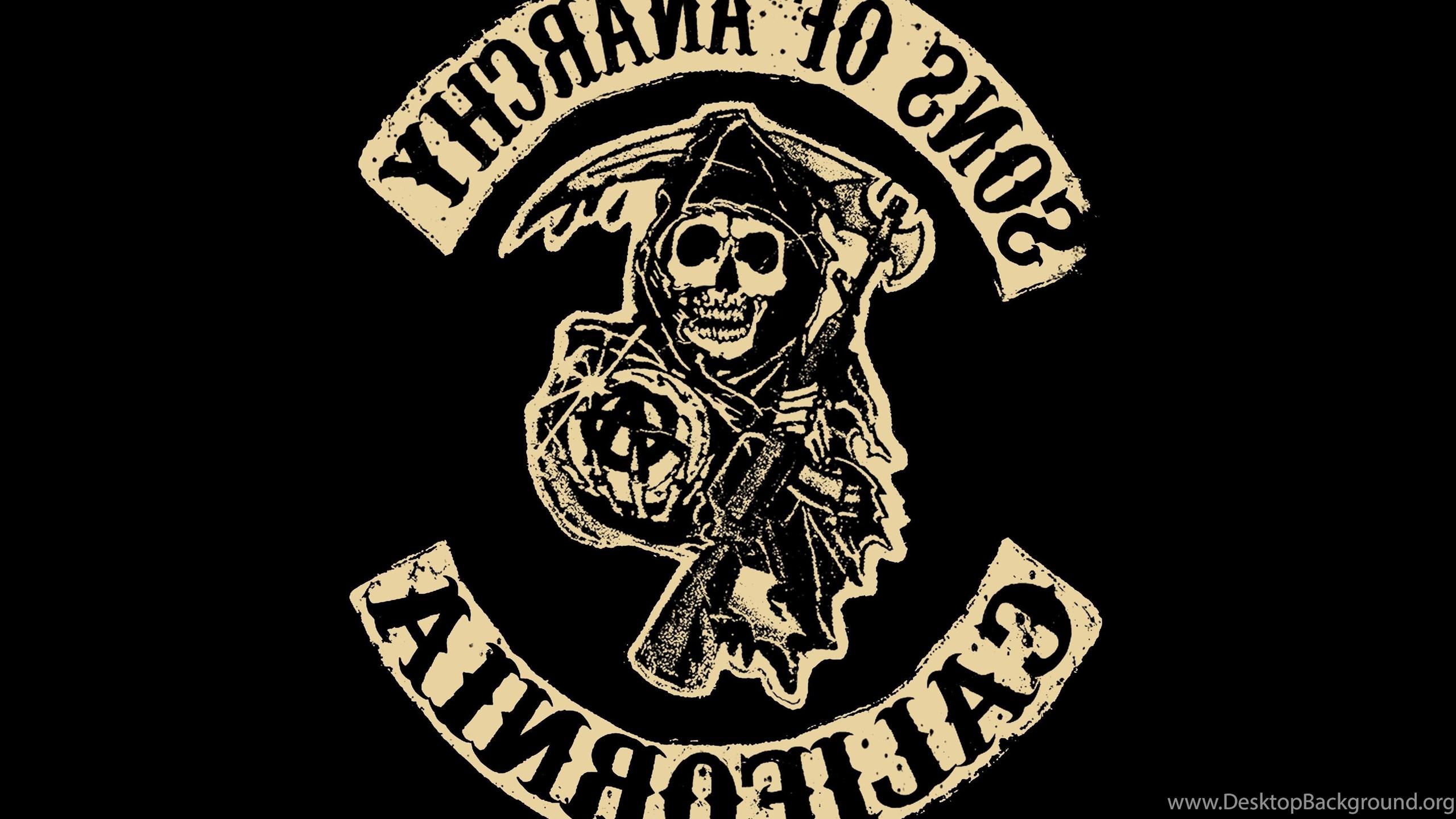 Sons Of Anarchy Tv Series Logo California Desktop Background