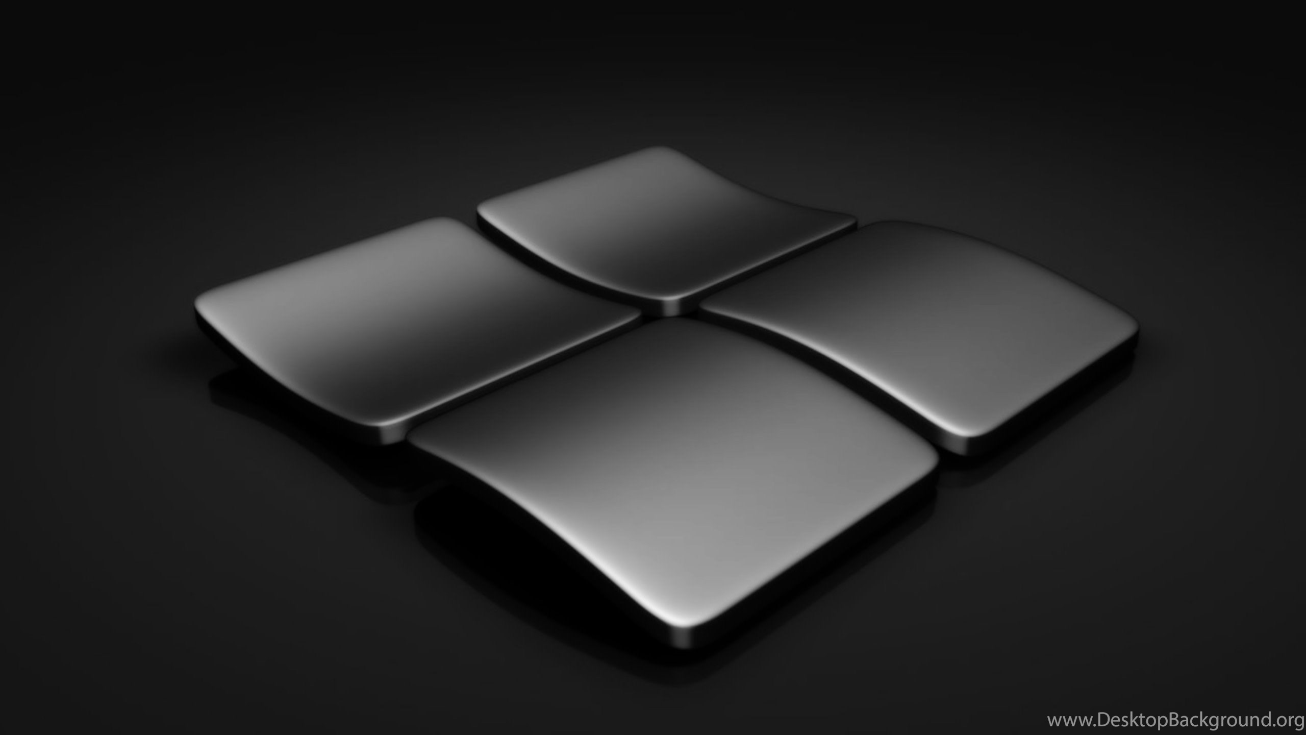 Windows 10 Wallpapers Black Logos Desktop Background
