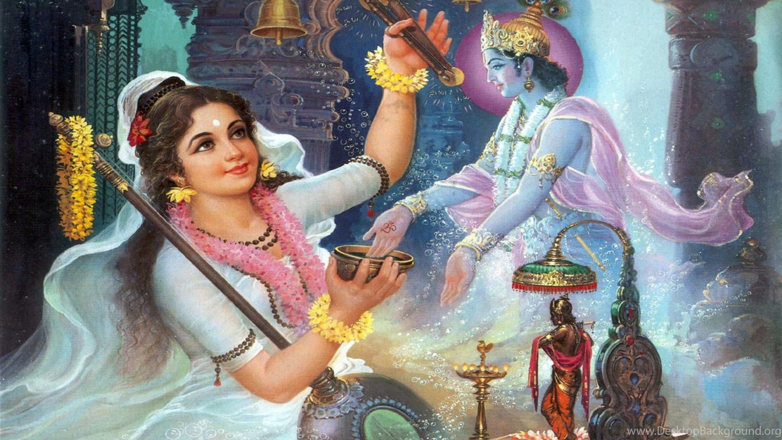 Free Lord Krishna With Radha Hd Wallpapers Desktop Background