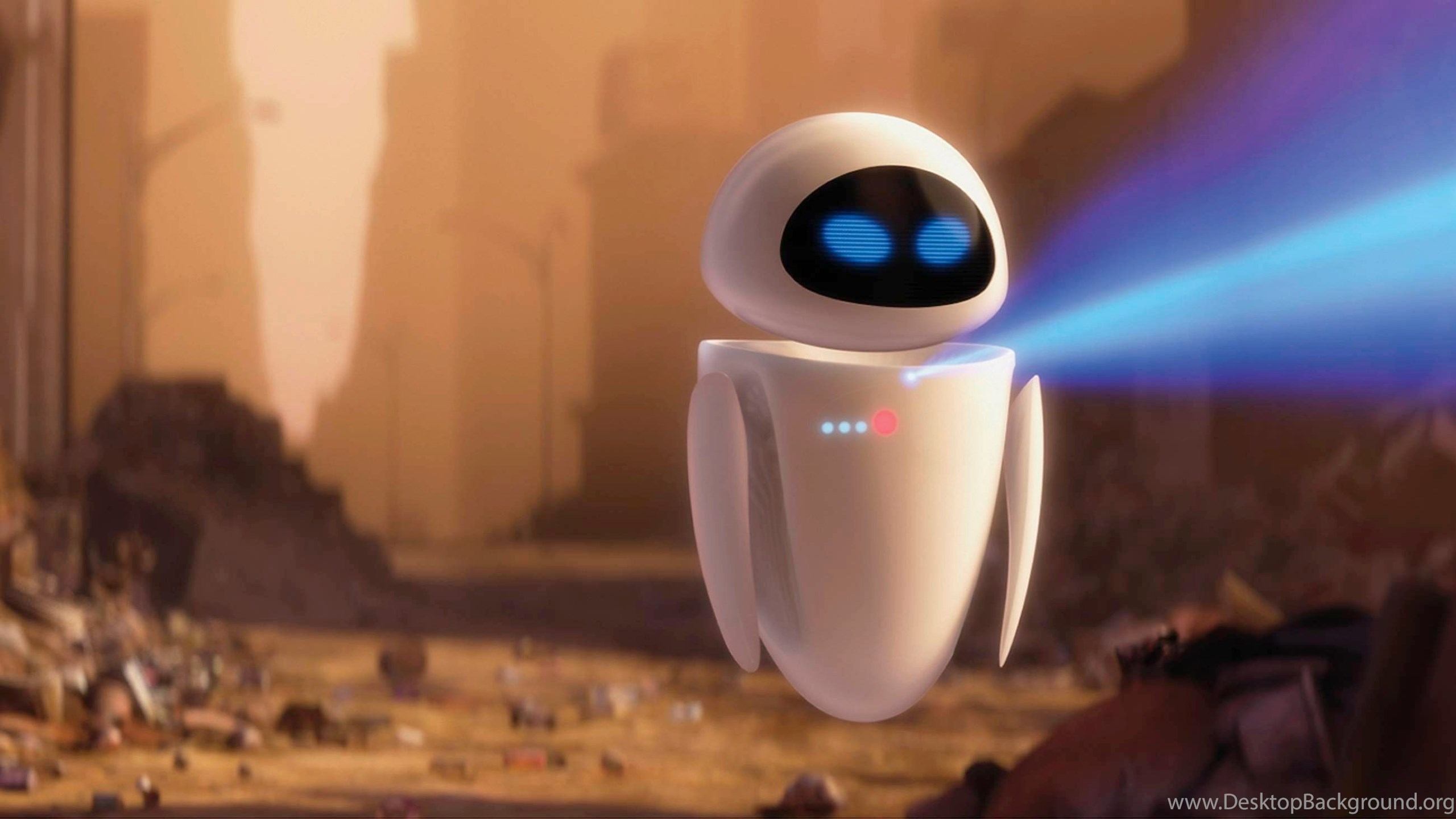Download Wall E And Eve Wallpapers Wide Desktop Background