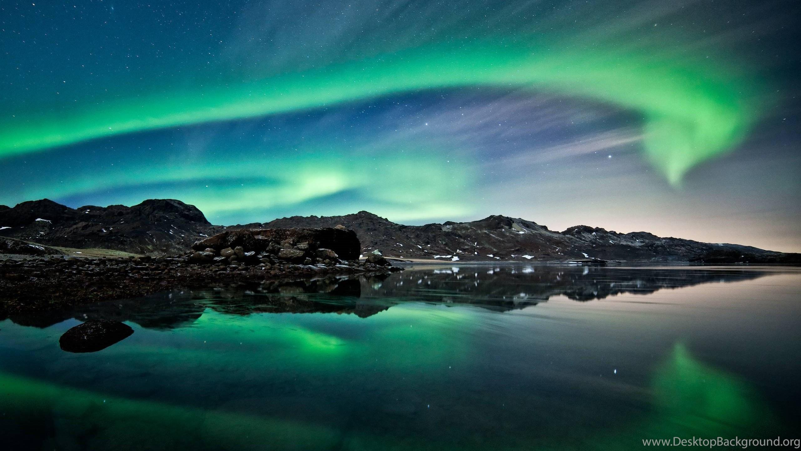 Northern Lights Iceland Aurora Borealis Hd Wallpapers Desktop Background