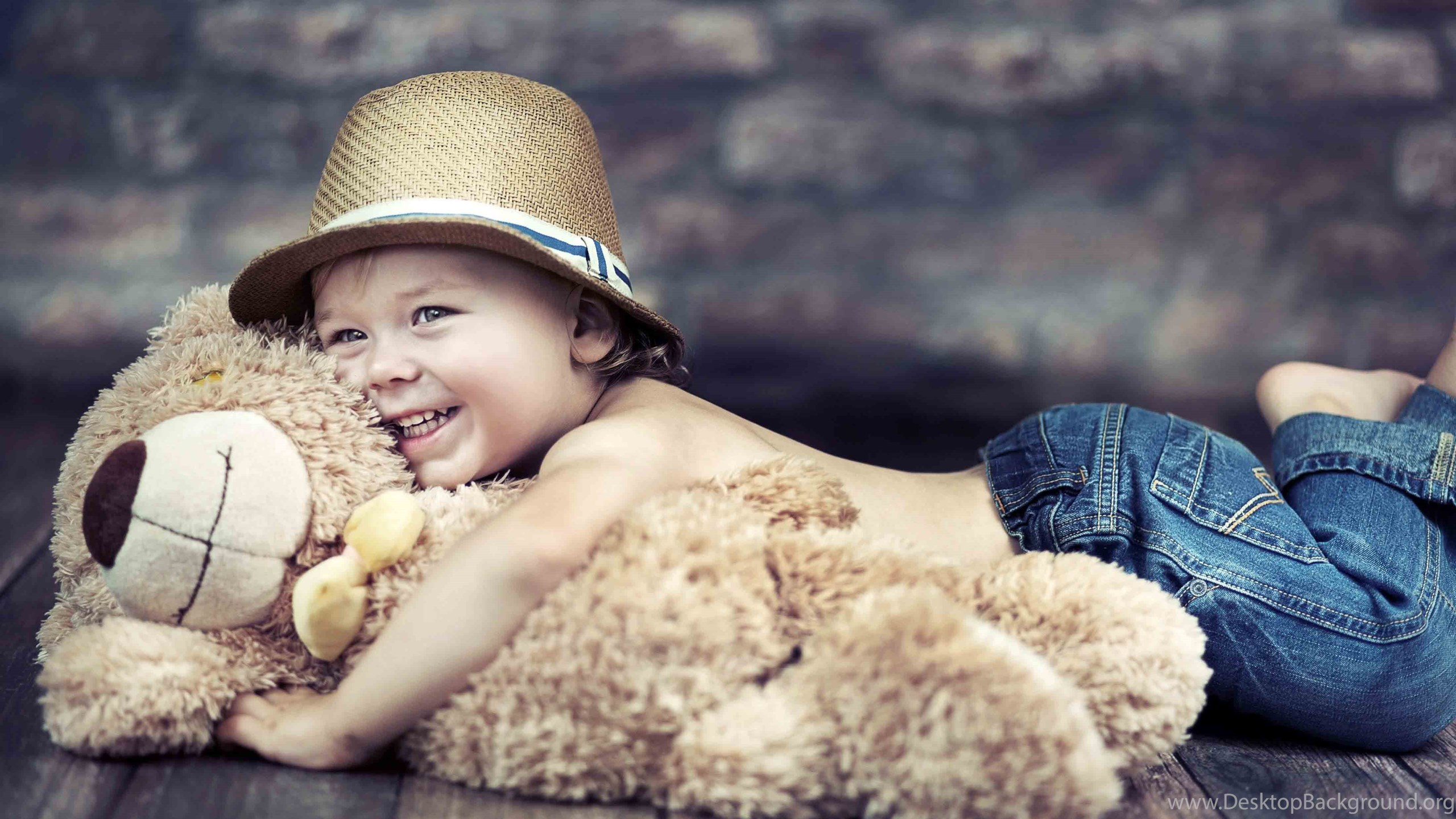 teddy bear, cute boy, hd, wallpapers desktop background