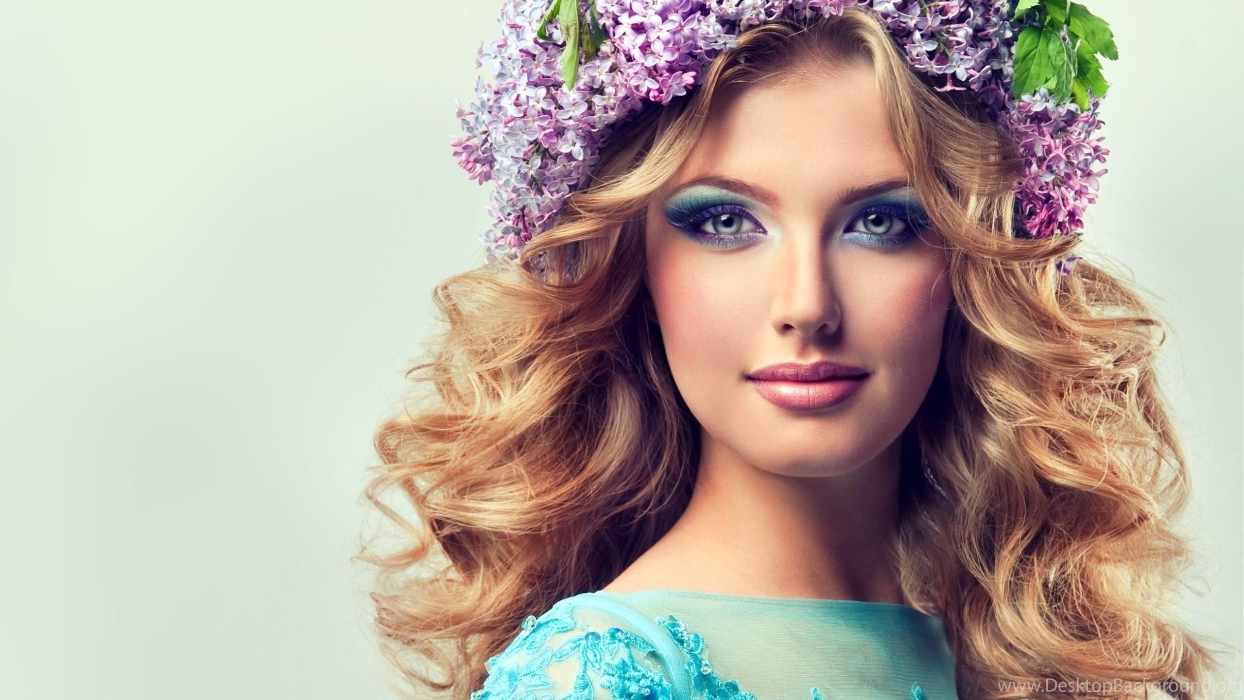 Hair flowers of beautiful girl wallpapers hd for desktop mobile netbook izmirmasajfo