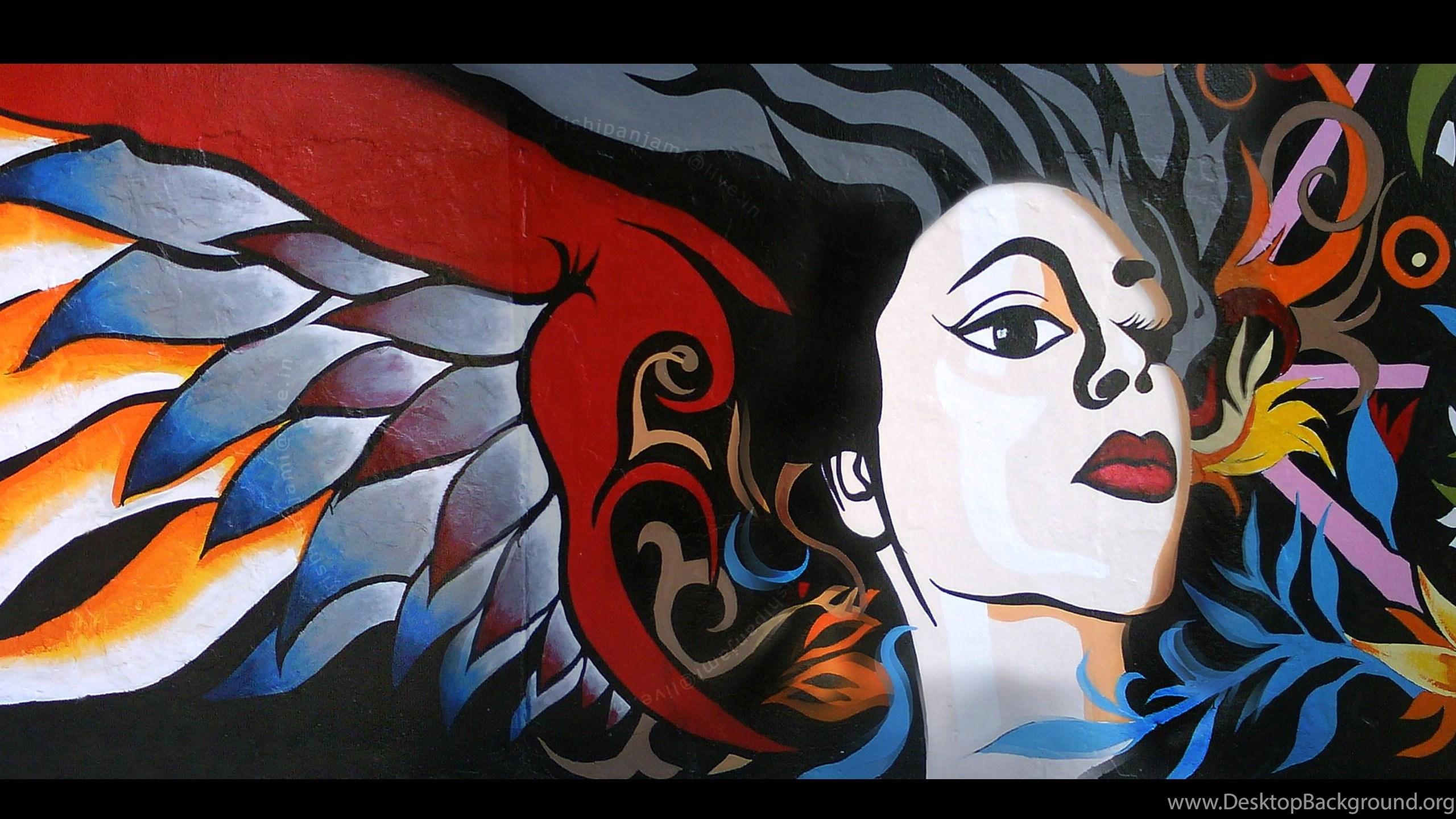 Graffiti 2D Art Wallpapers Desktop Background