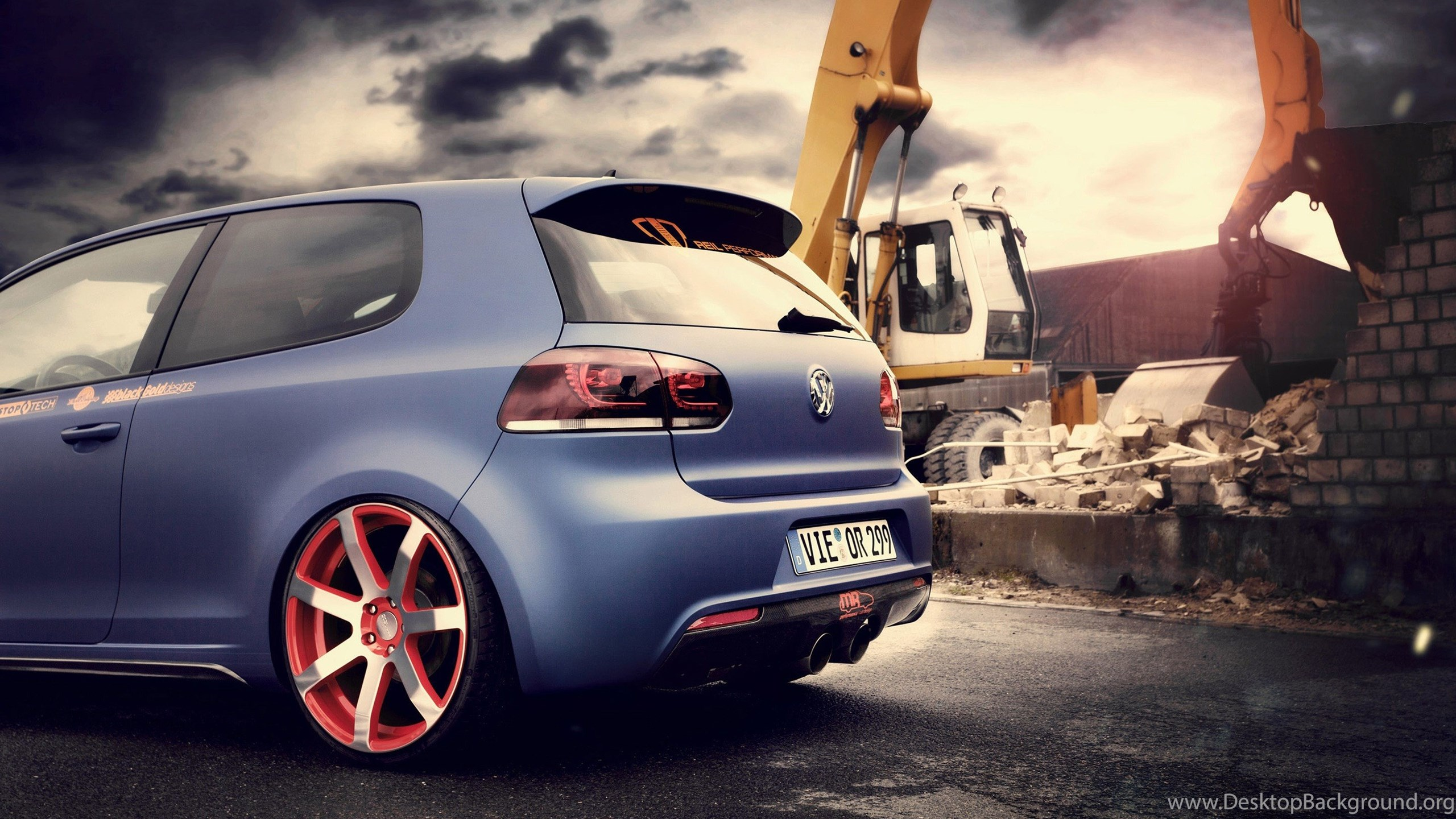 Cars Bbm Vw Golf Rear Tunning Cars Full Hd Wallpapers Cars For Hd