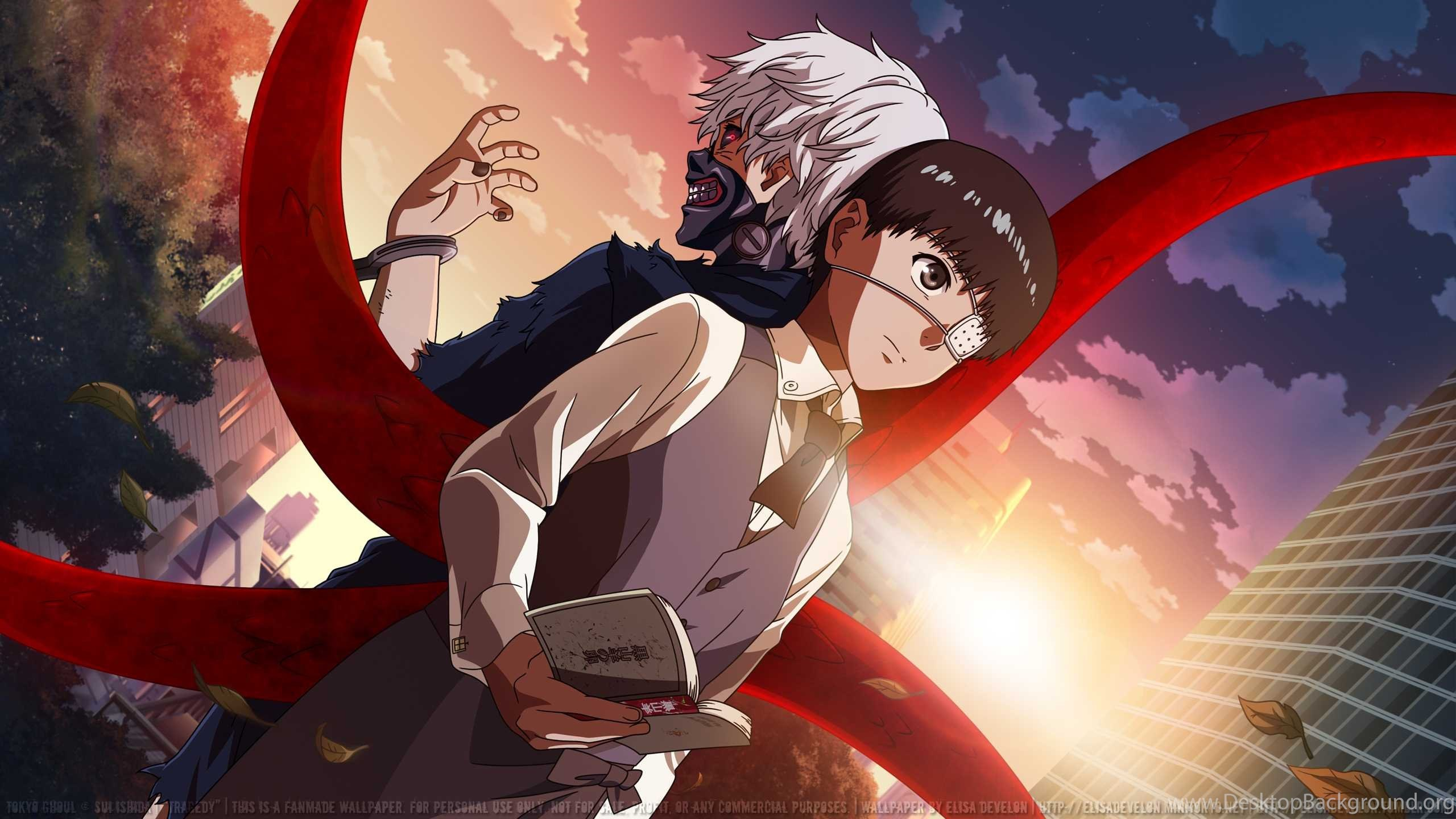 Tokyo Ghoul Wallpapers Hd Collection Of Tokyo Ghoul Anime Desktop