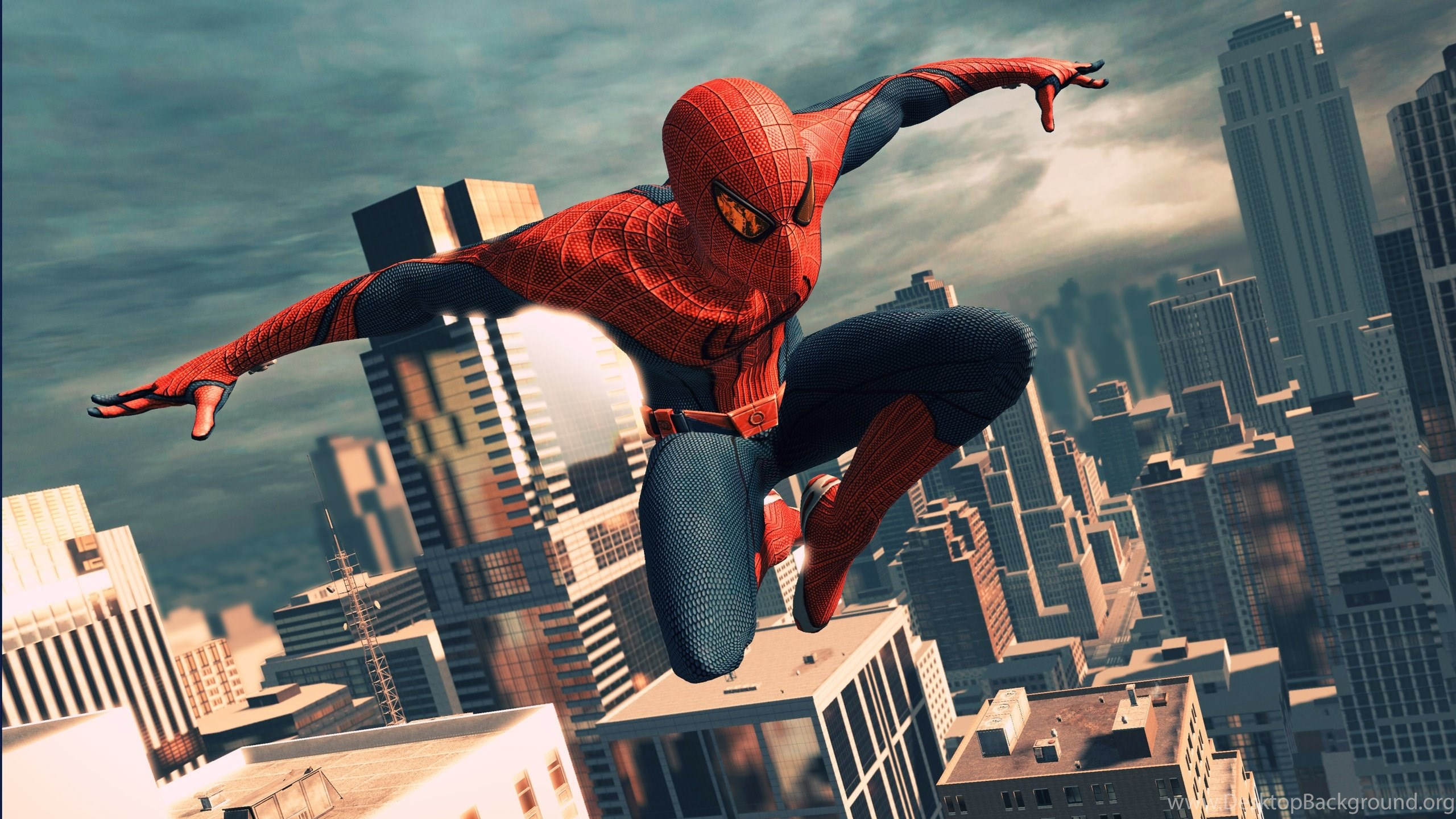 Wallpapers The Amazing Spiderman Superhero Spider Man Tohd With