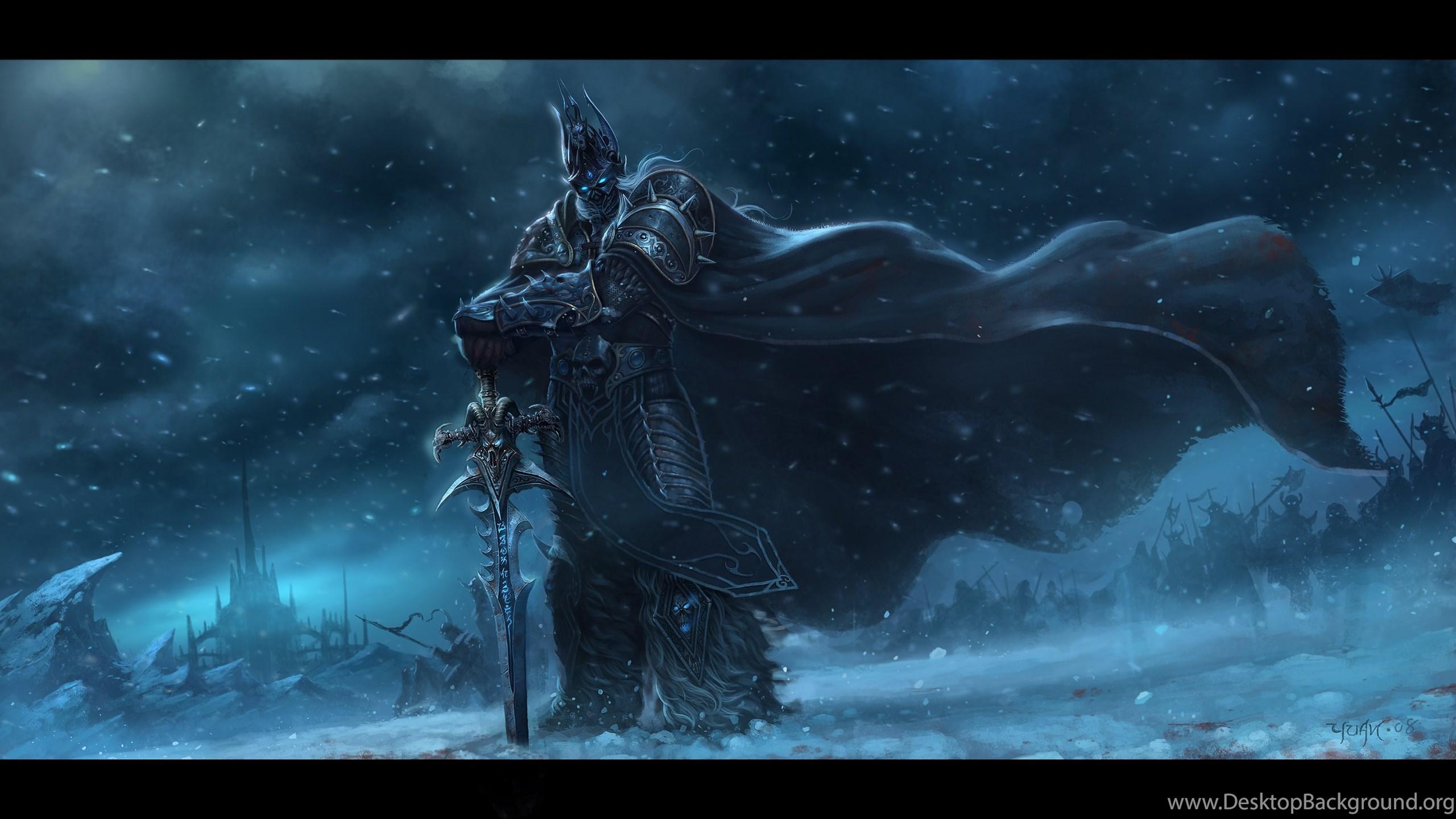Arthas Menethil, The Lich King By ChaoyuanXu On DeviantArt