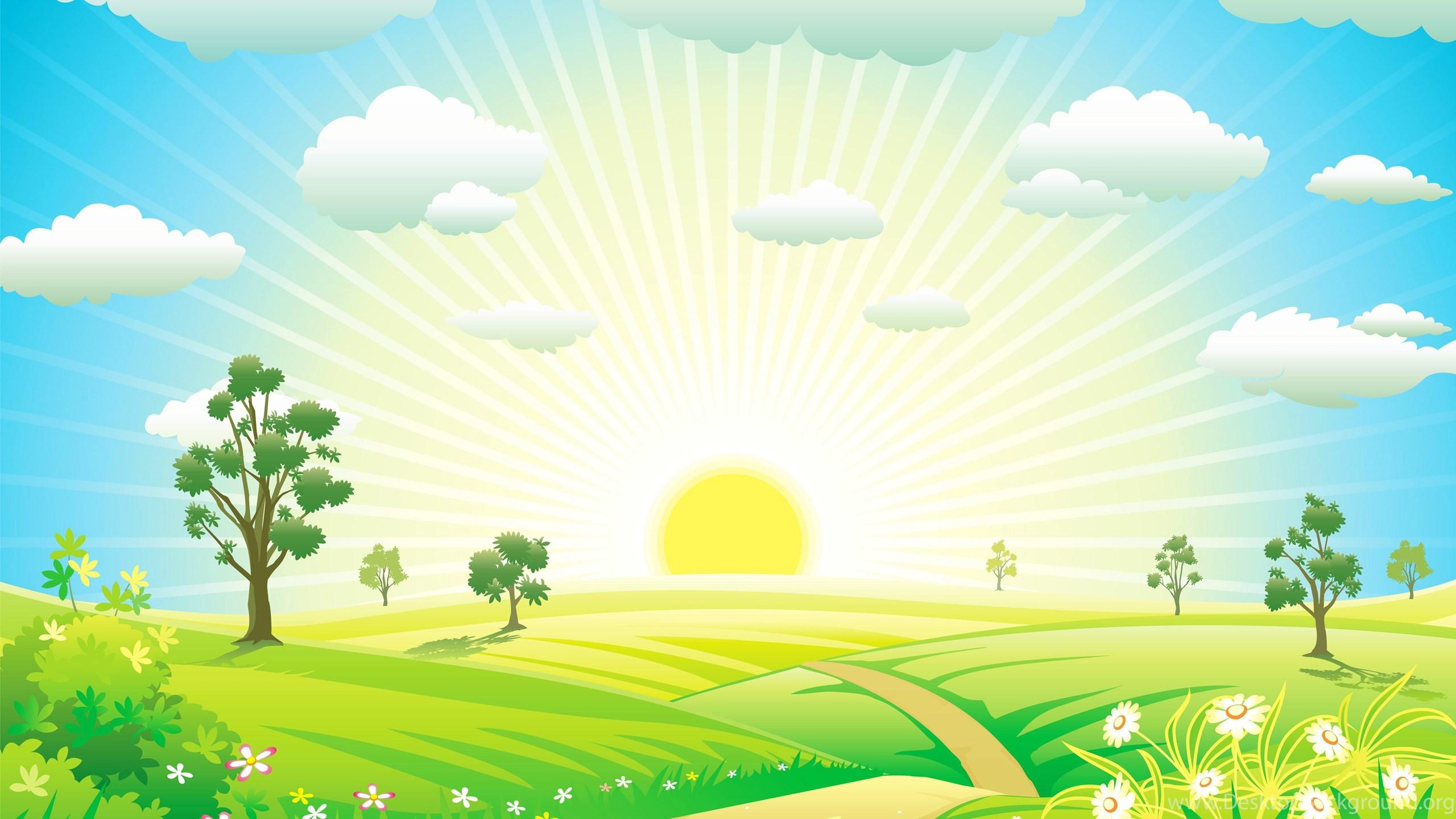 Лето солнце картинки для детей, хорошая девочка