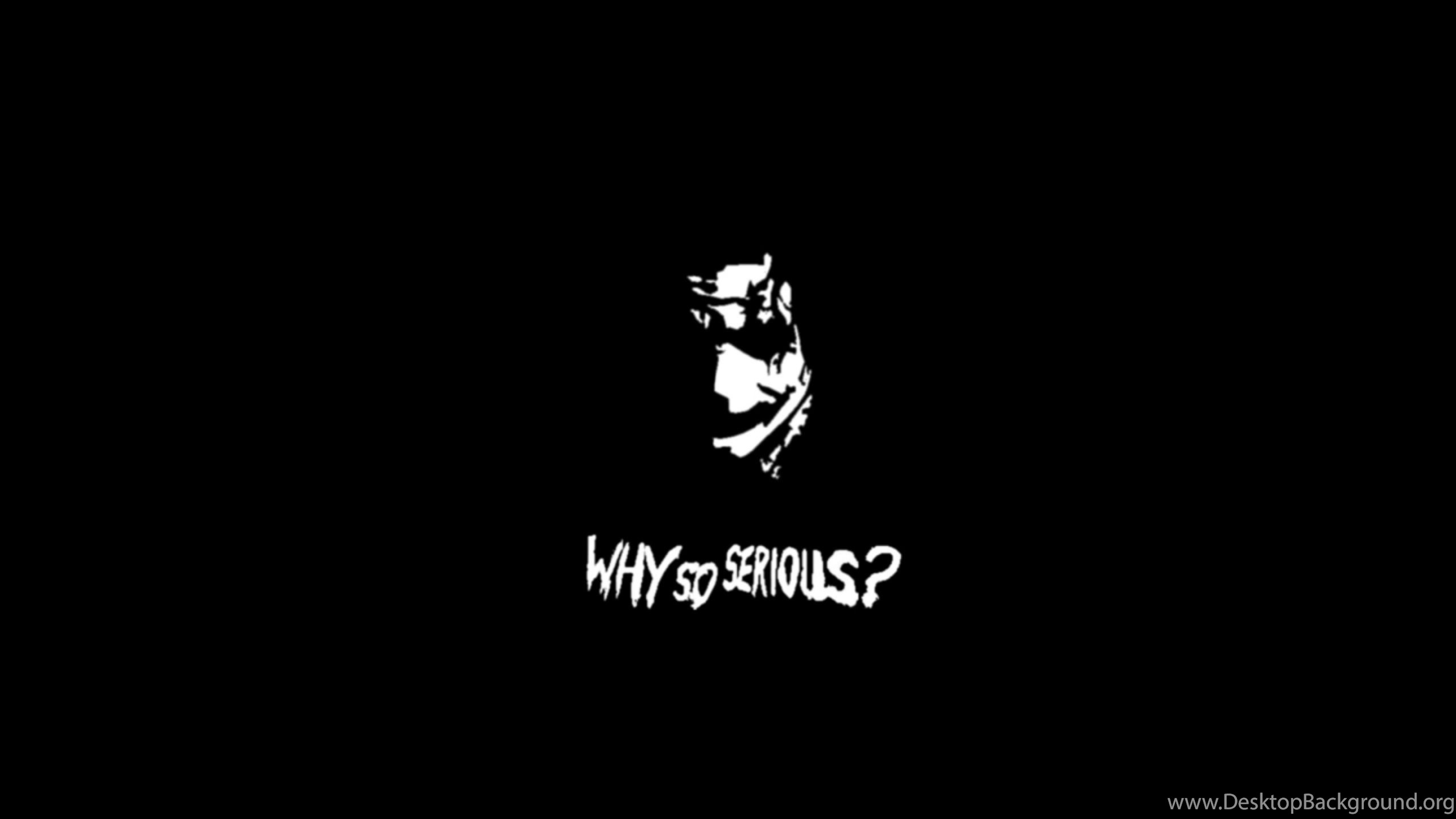 Download Wallpapers 2560x1600 The Joker Why So Serious