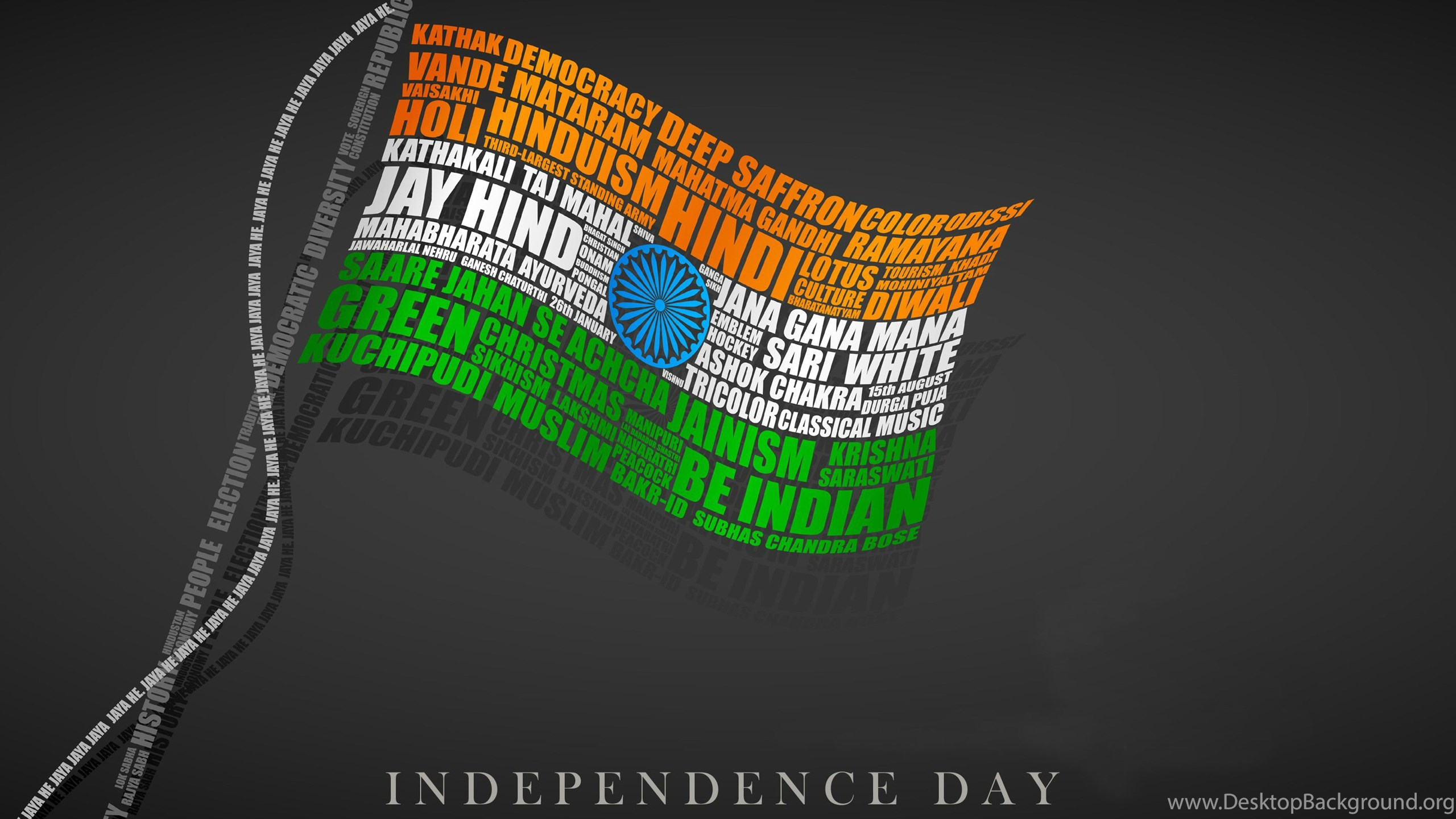 Indian flag with beautiful quotes hd wallpapers desktop background netbook voltagebd Choice Image