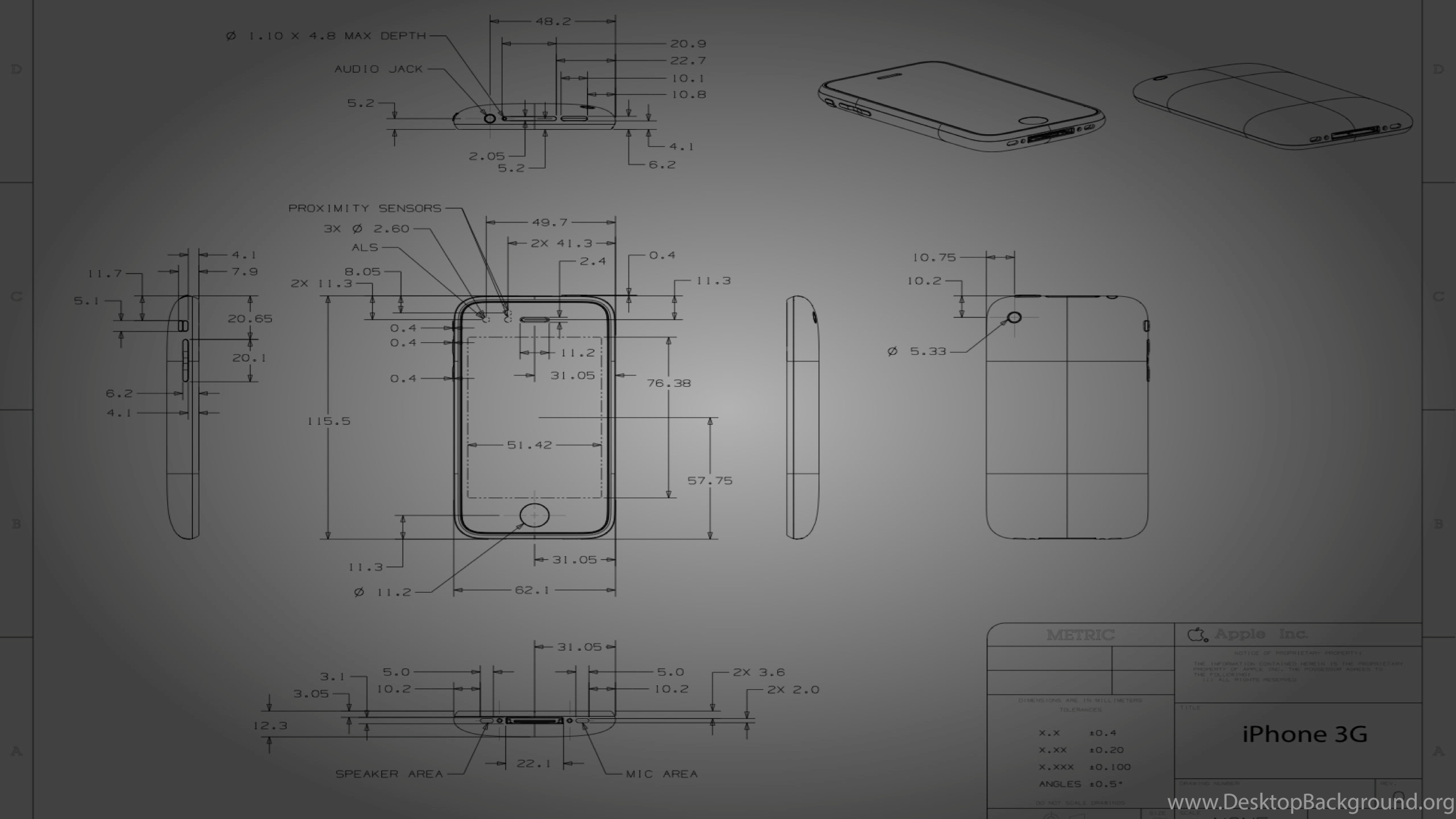 Iphone 3g blueprint wallpapers desktop background netbook malvernweather Images