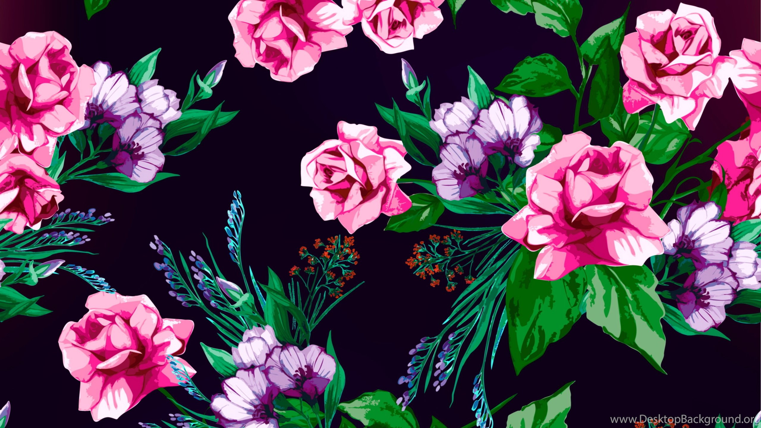 Floral Desktop Background