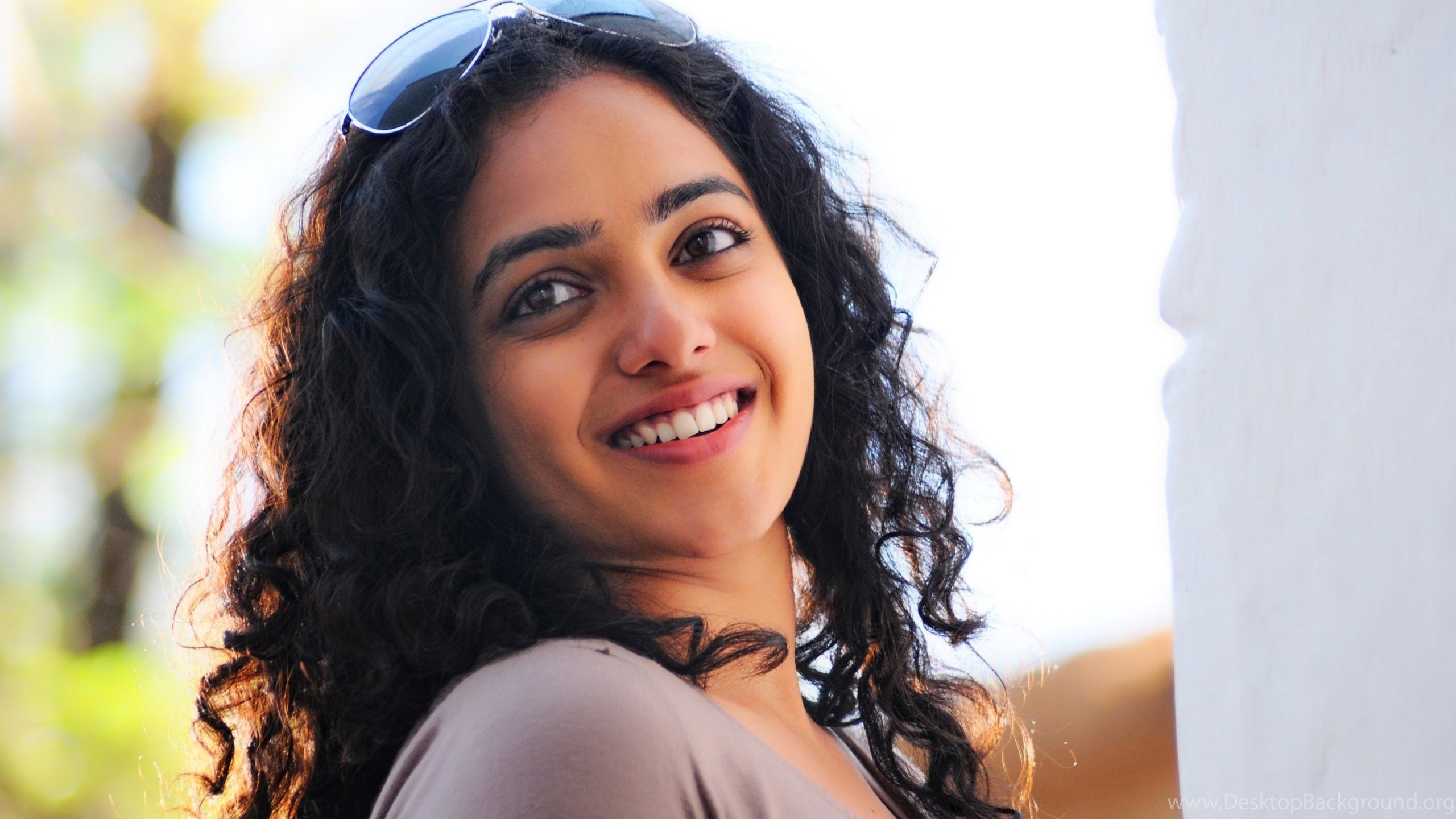 south indian actress nithya menon wide monitor hd wallpapers 4k desktop background south indian actress nithya menon wide