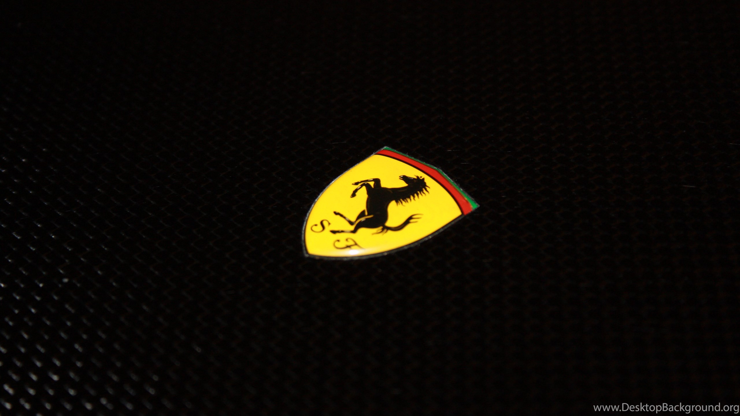 Download Ferrari Logo Wallpapers Wide Desktop Background