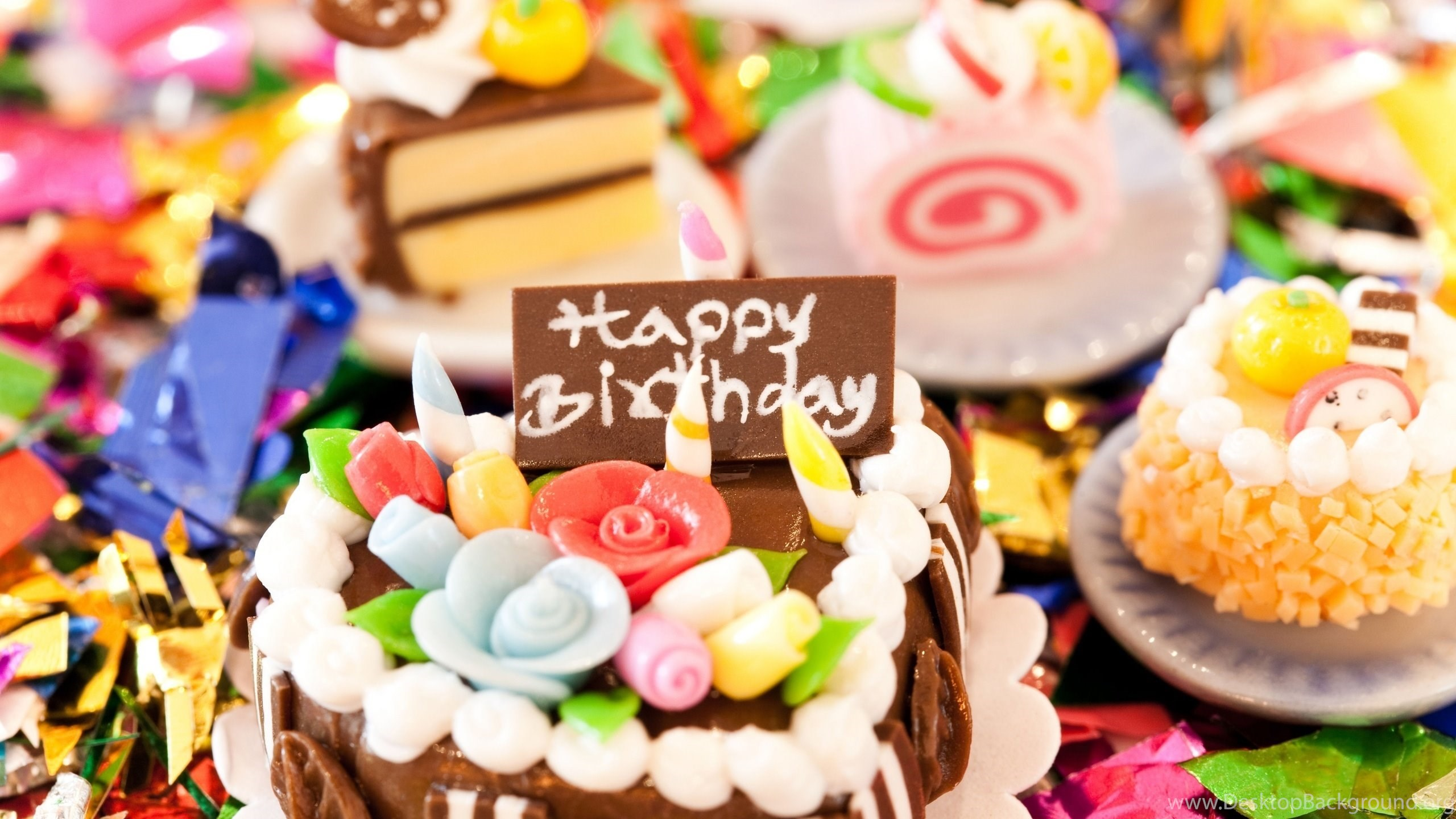 Happy Birthday Cake Wallpapers Hd Desktop Background