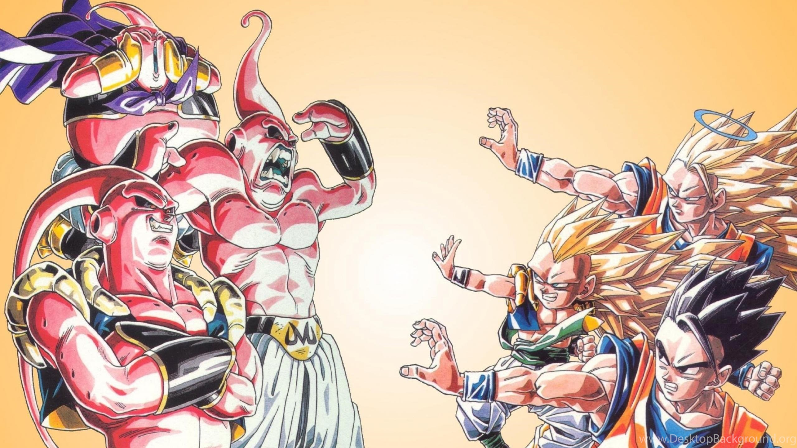 Dbz Dual Screen Wallpapers: Wallpapers Dragonball Anime Dragon Ball Z All 2560x1600