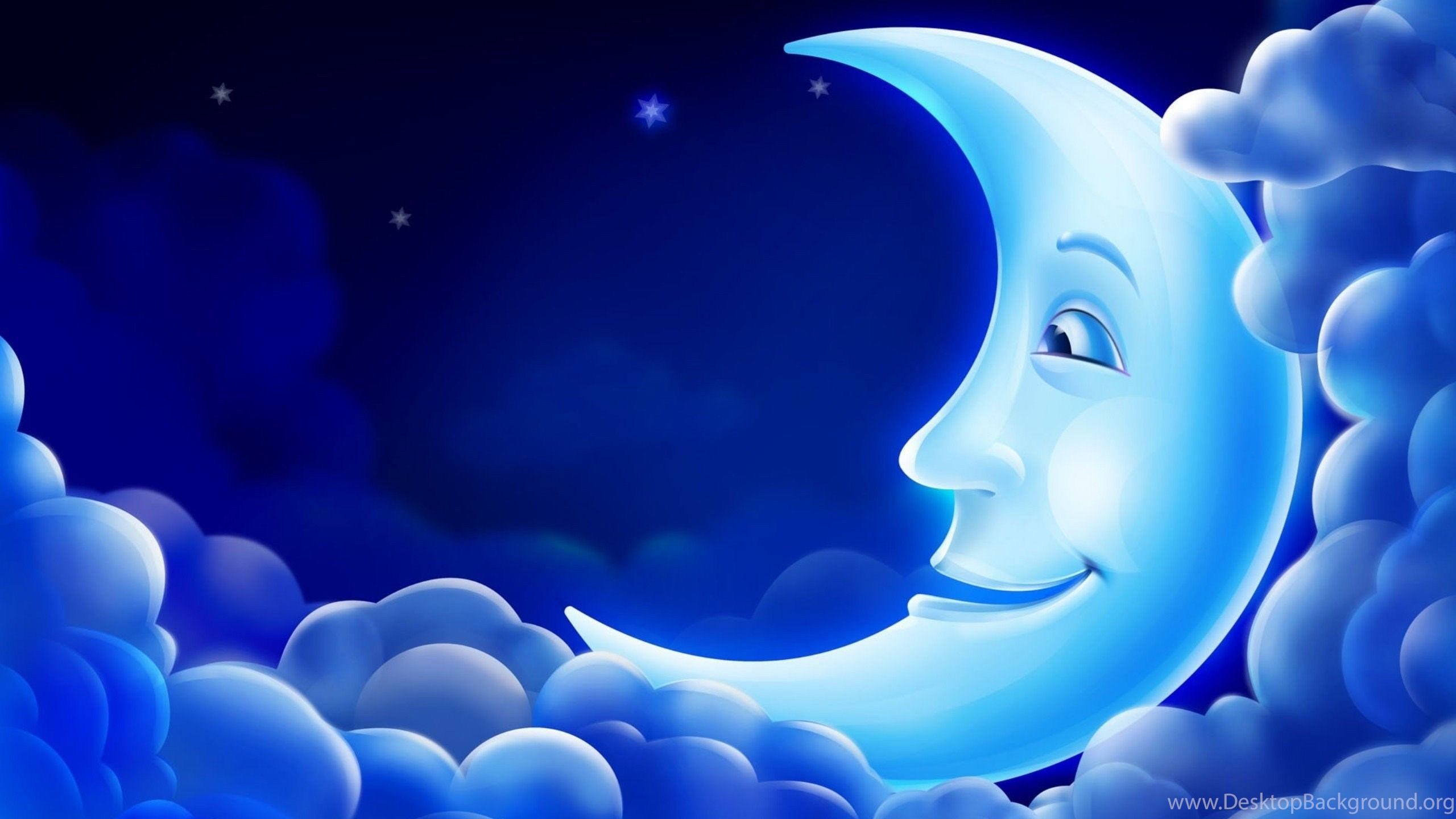 Blue moon good night wallpapers hd download for desktop desktop netbook voltagebd Choice Image