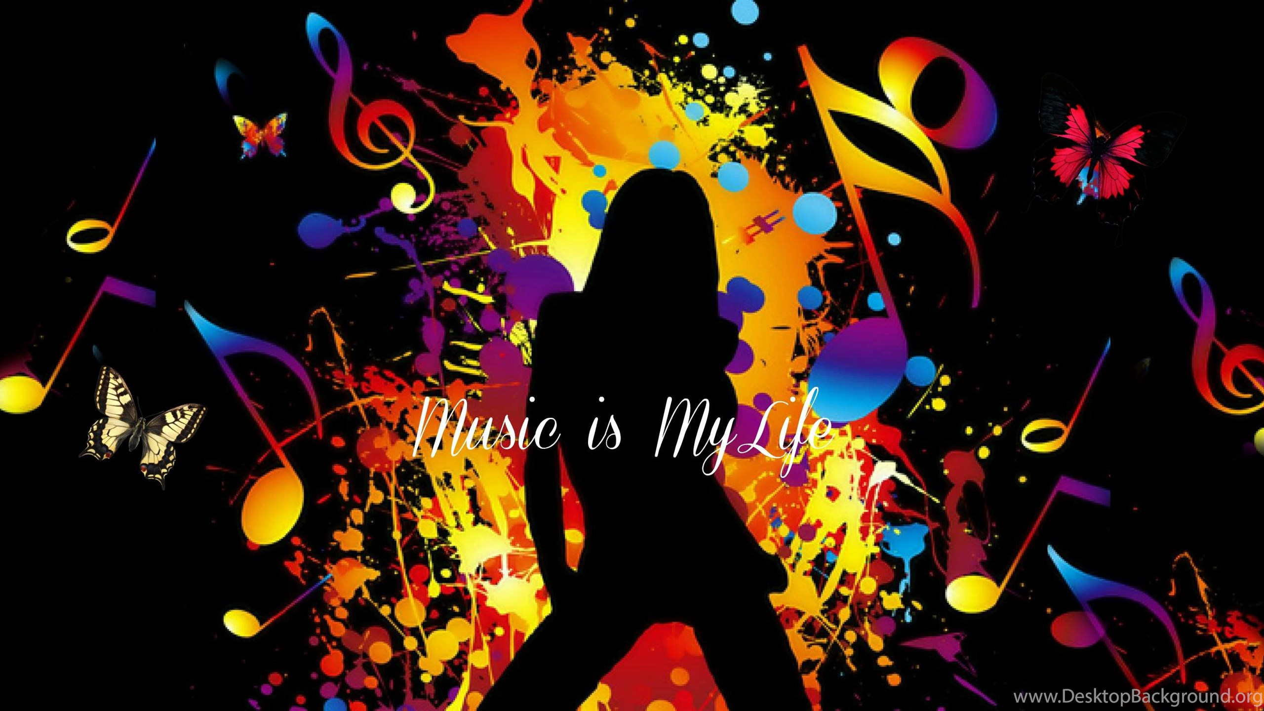 Music Is My Life Wallpapers Cave Desktop Background