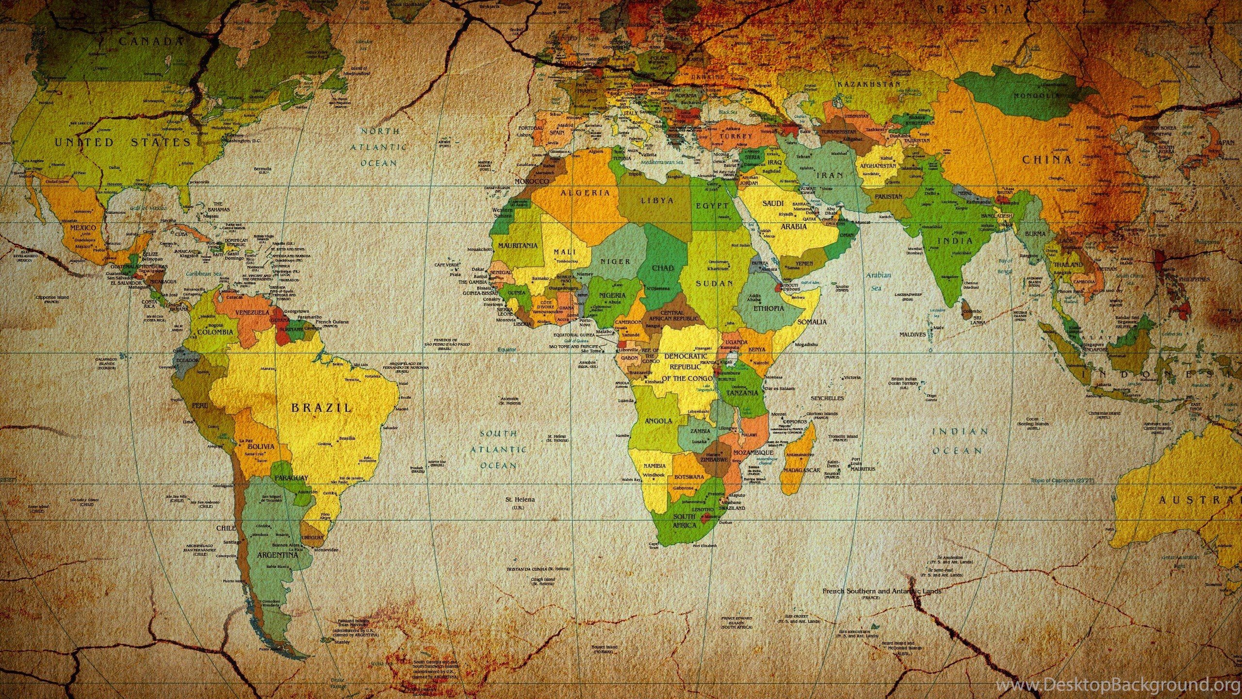 High Resolution World Map High Resolution Wallpapers Full Size - World map full size download