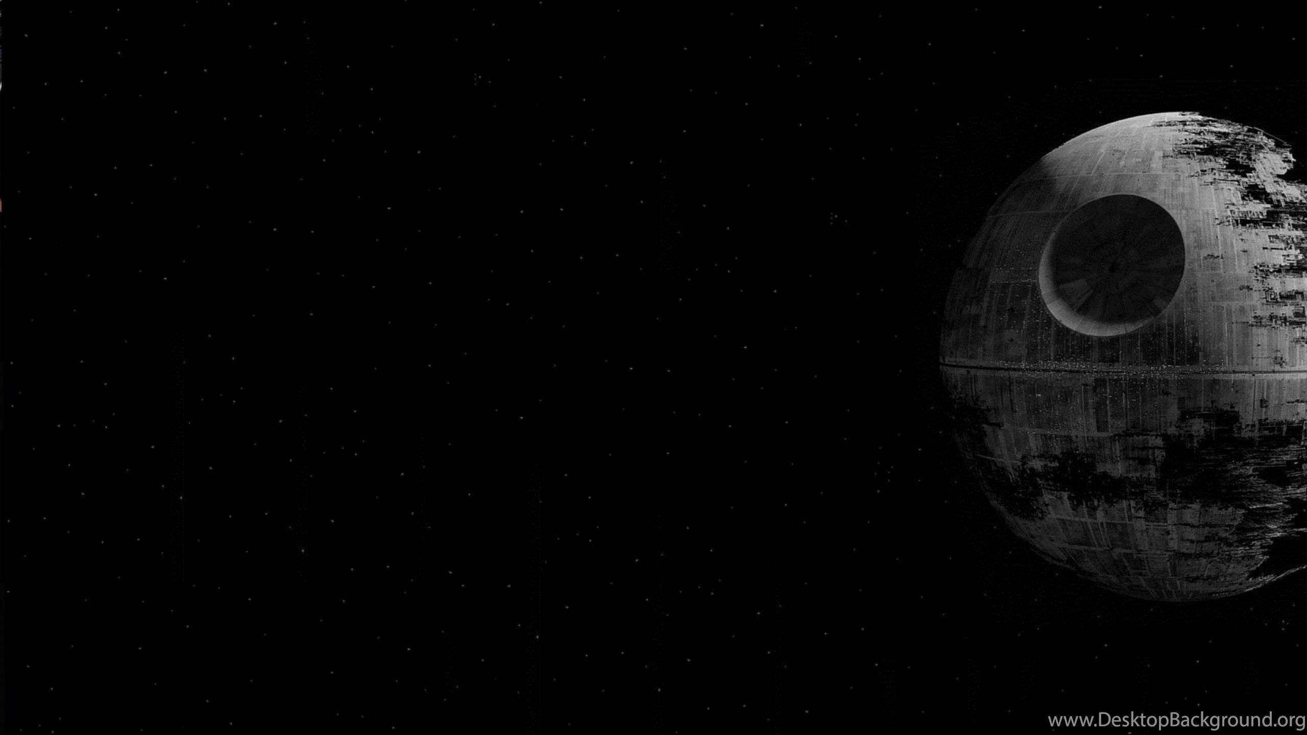 Wallpapers Death Star Wars Movies Black X High 2560x1600 Desktop Background