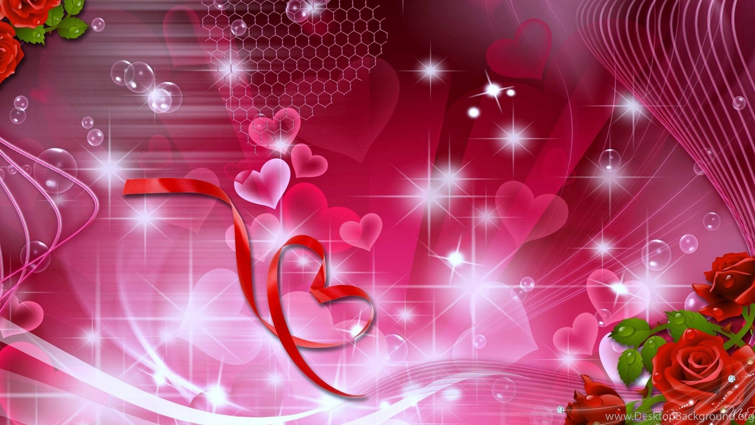 Colorful Hearts Wallpapers HD Download For Desktop Mobile