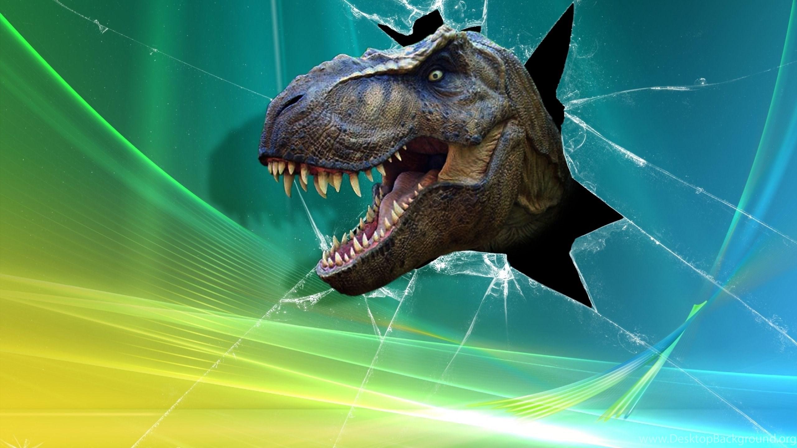 High resolution cracked broken screen dinosaur wallpapers - Cool screensavers for cracked screens ...