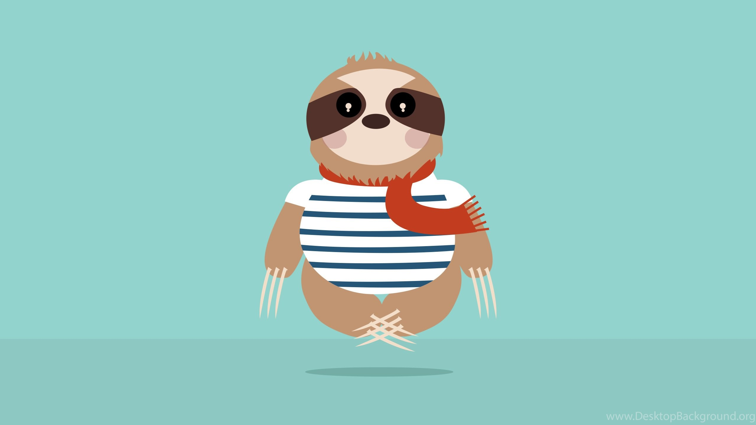 Freebies Vol 8 Sloth Wallpapers Charlene Henry Desktop Background