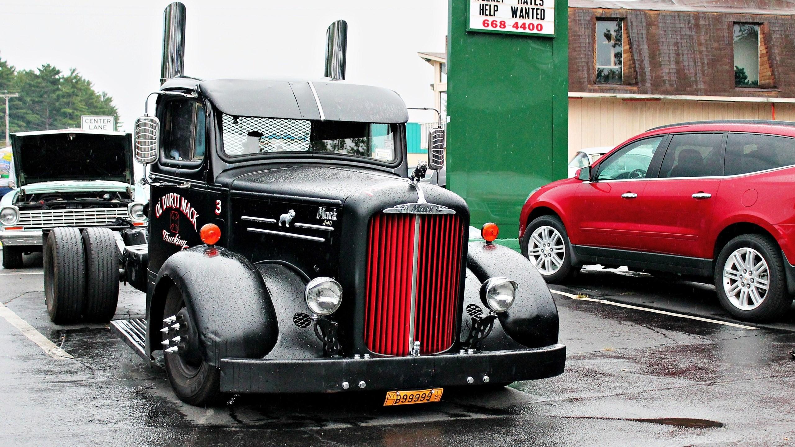Mack semi tractor transport truck wallpapers desktop background - Mack truck pictures ...