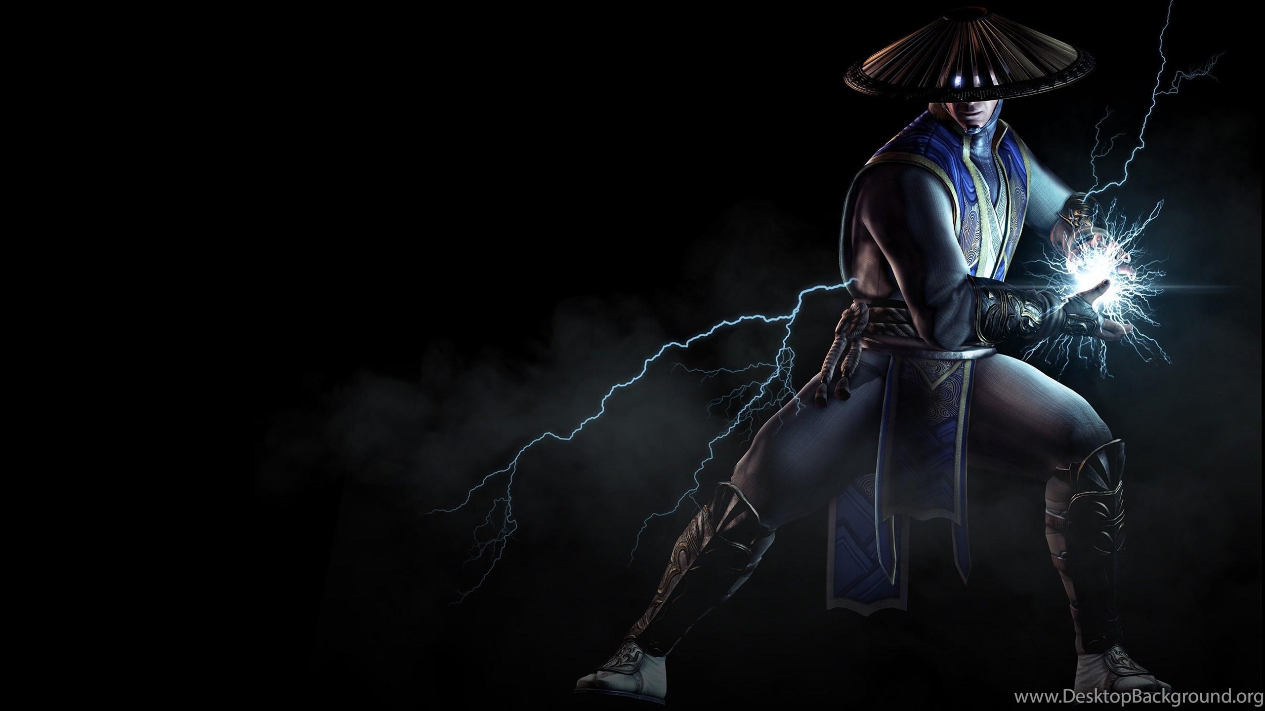 Raiden Mortal Kombat X Mortal Kombat Video Games Wallpapers Hd