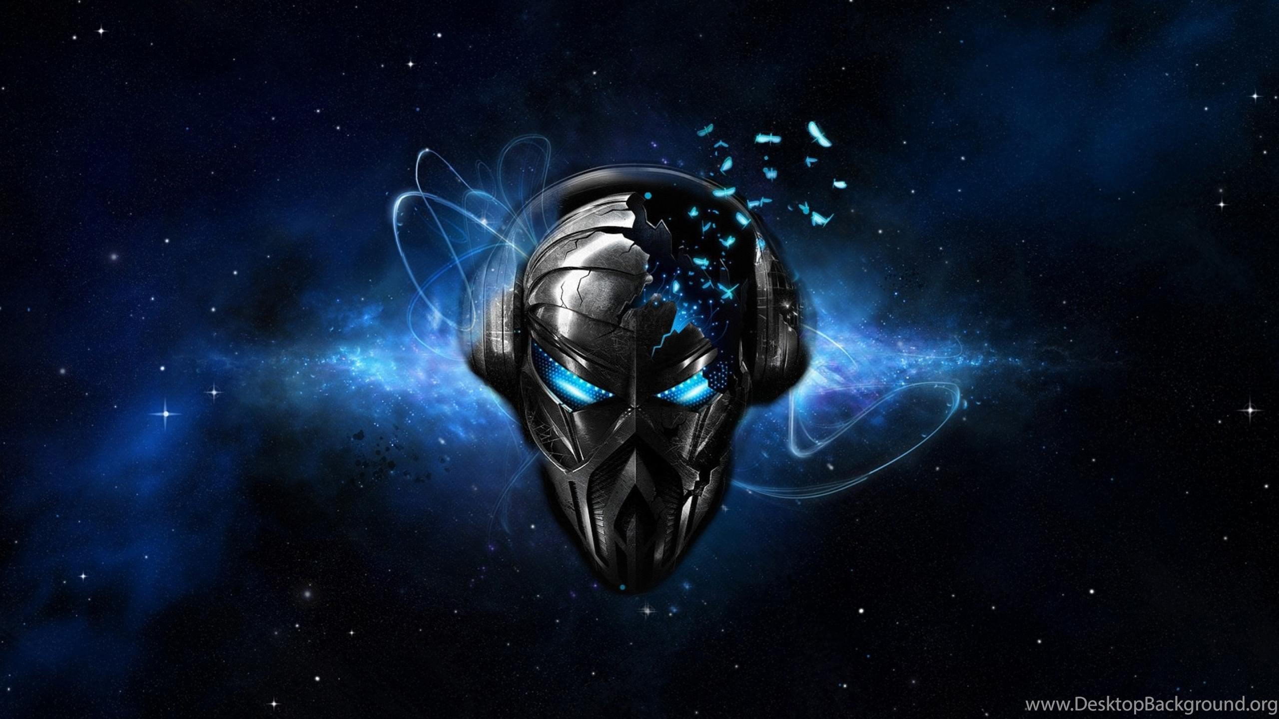 Aliens Listen Music With Headphones Wallpapers HD
