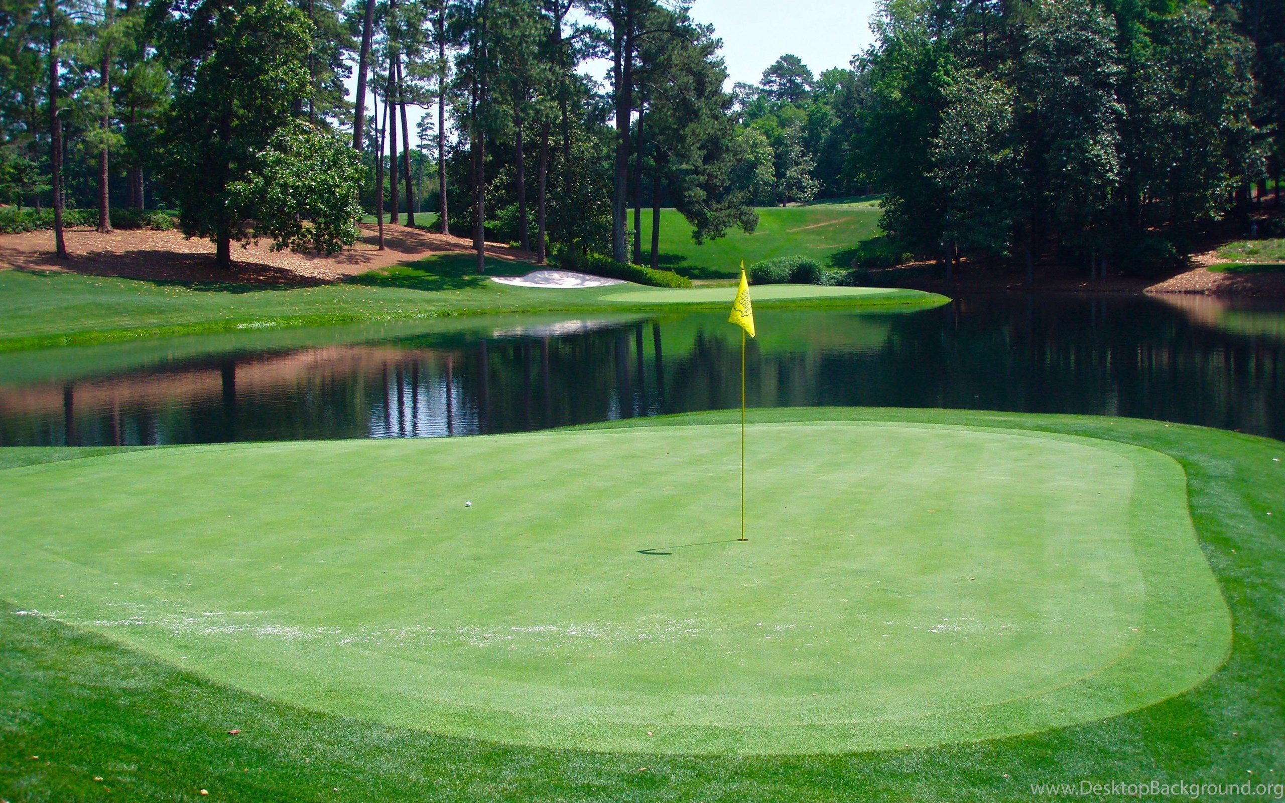 The Augusta National Golf Course Wallpapers HD Masters ...