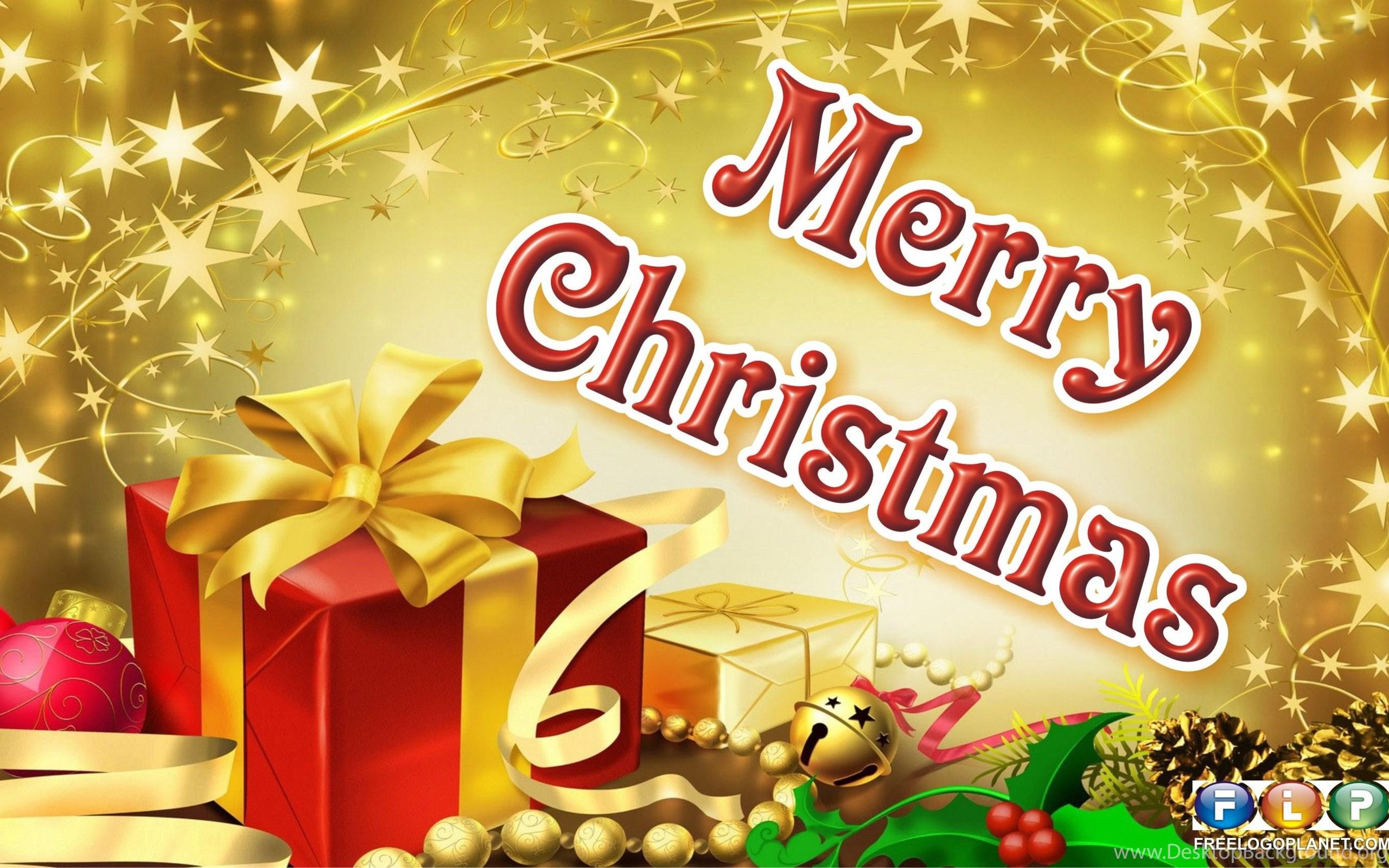 Happy Christmas Day 2015 SMS Desktop Background