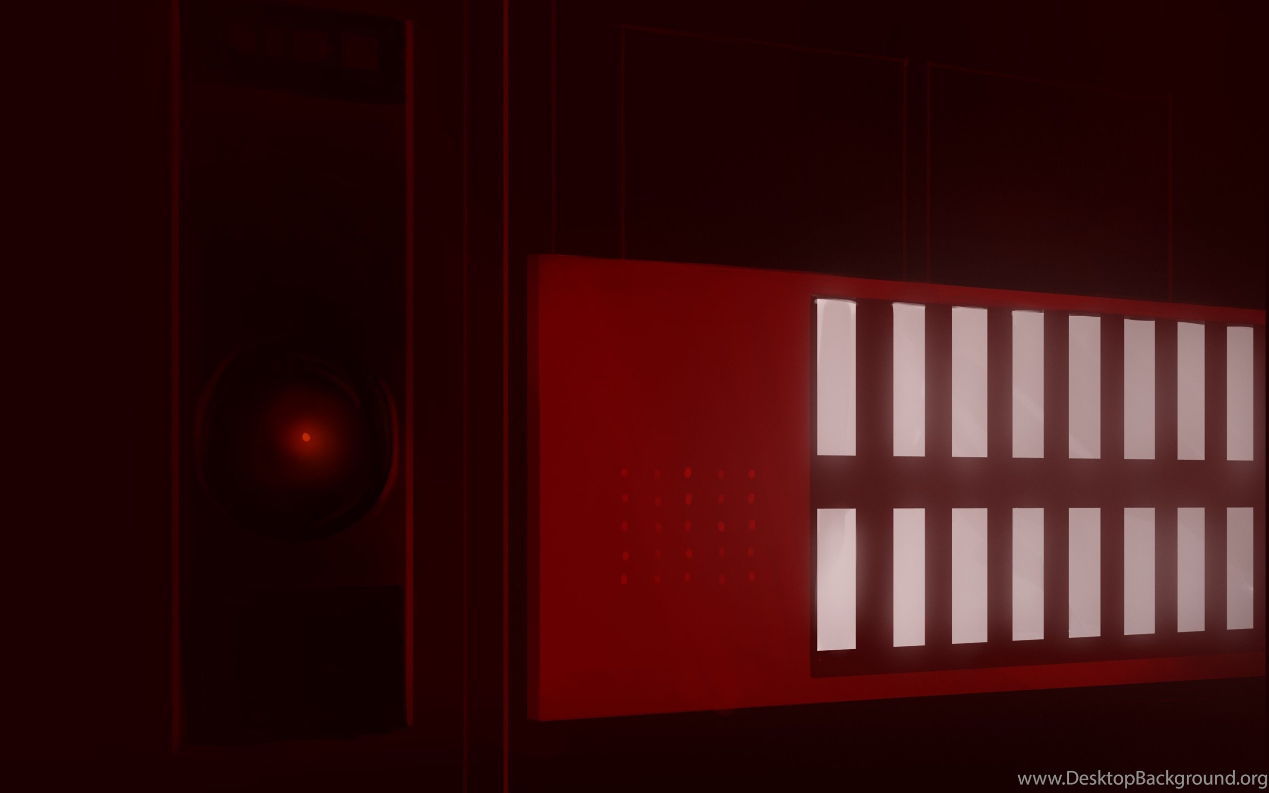 2001 A Space Odyssey Hal 9000 Wallpapers Hd Desktop Background