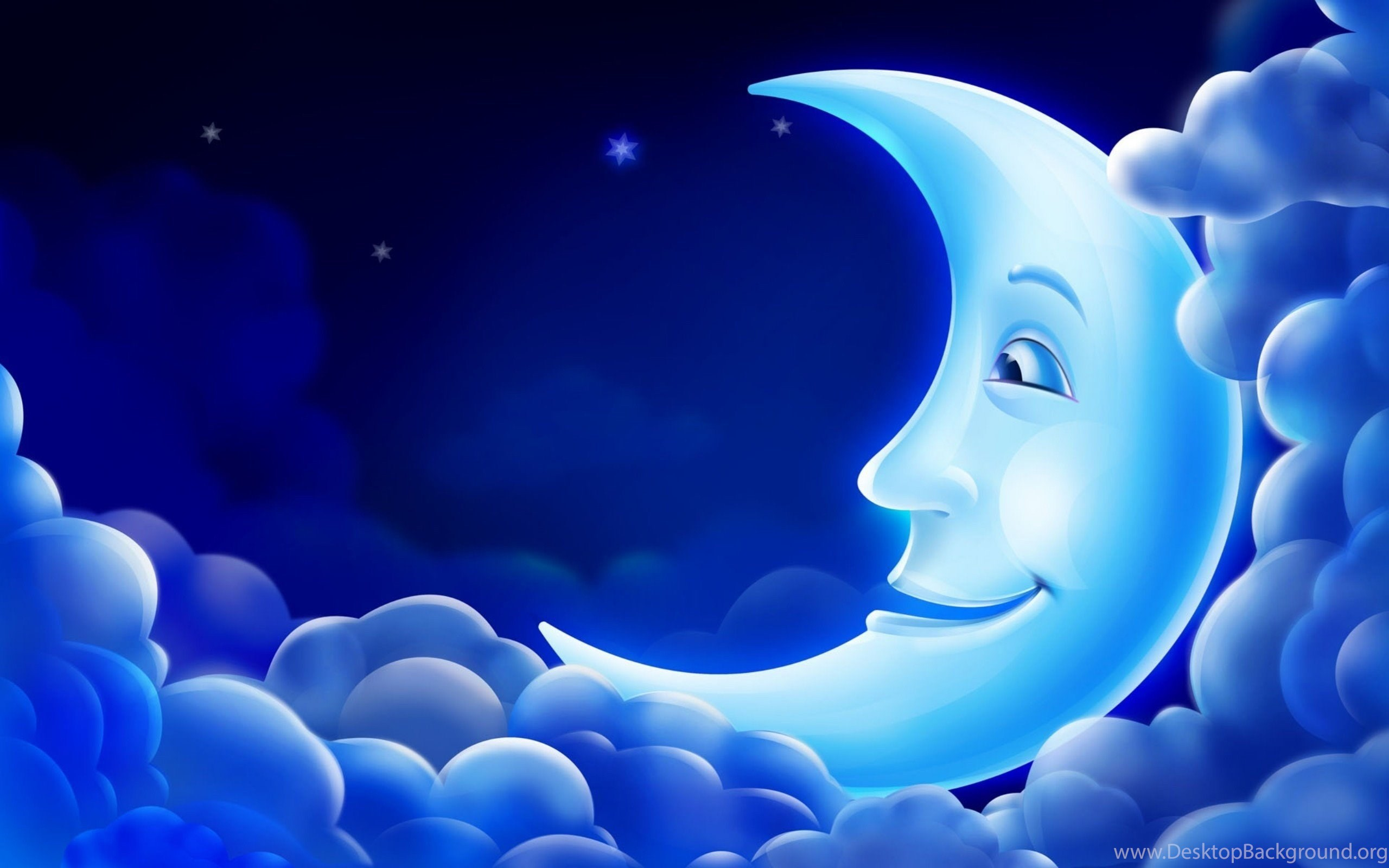 blue moon good night wallpapers hd download for desktop desktop