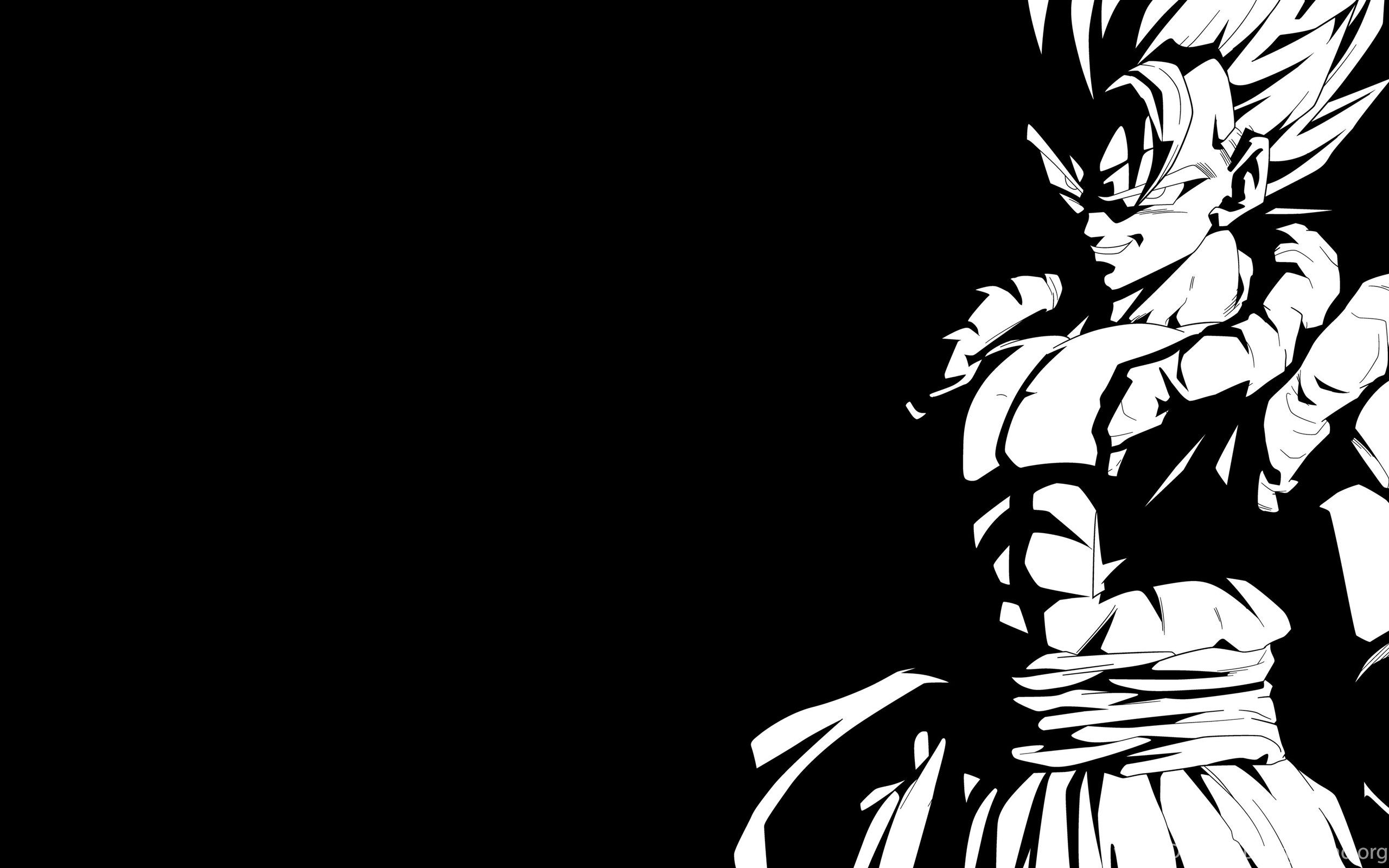 4k Wallpaper Wallpaper By Gstblack: Super Gogeta Black And White 4K Wallpapers By