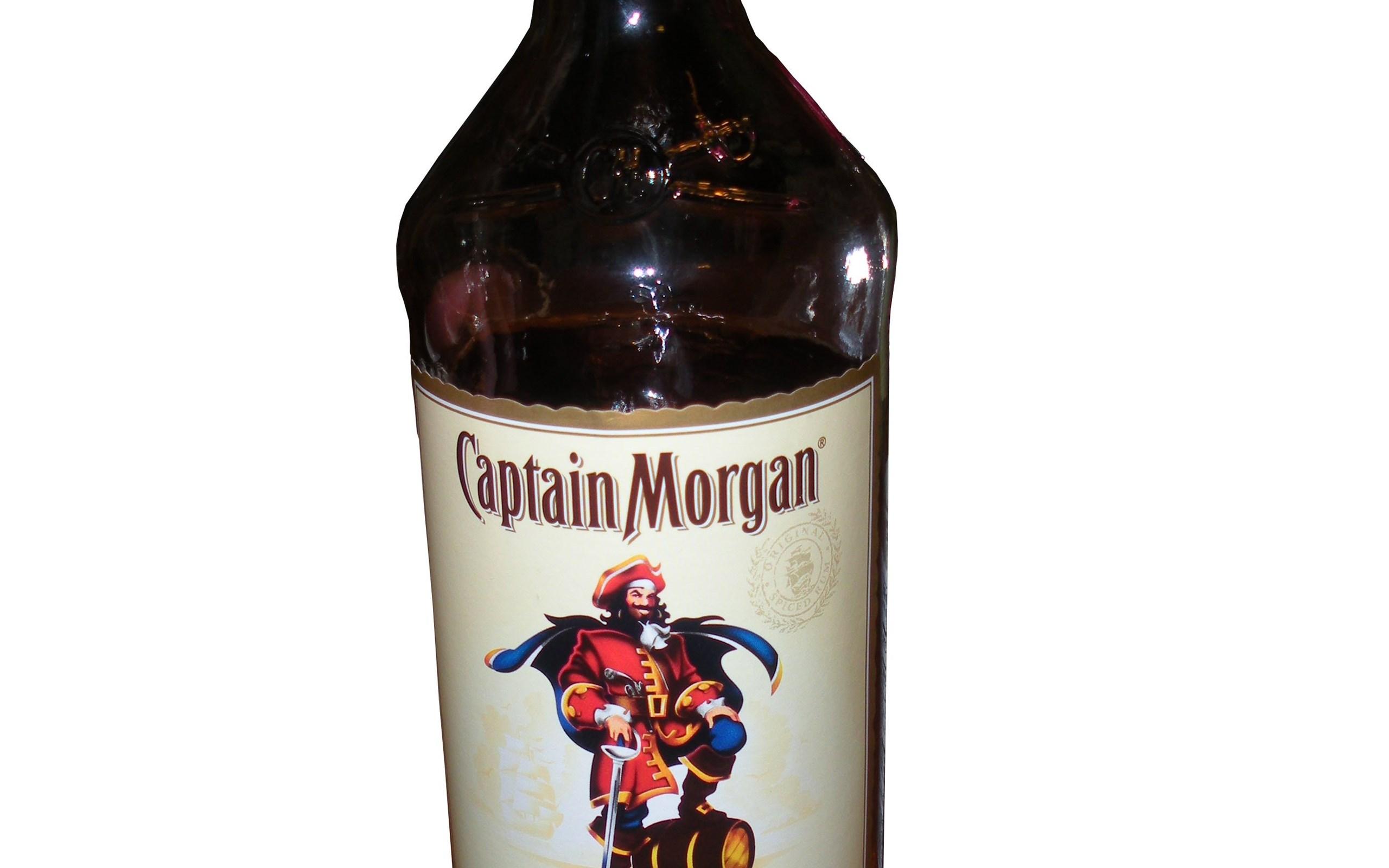 Alcohol Rum Captain Morgan Desktop Background