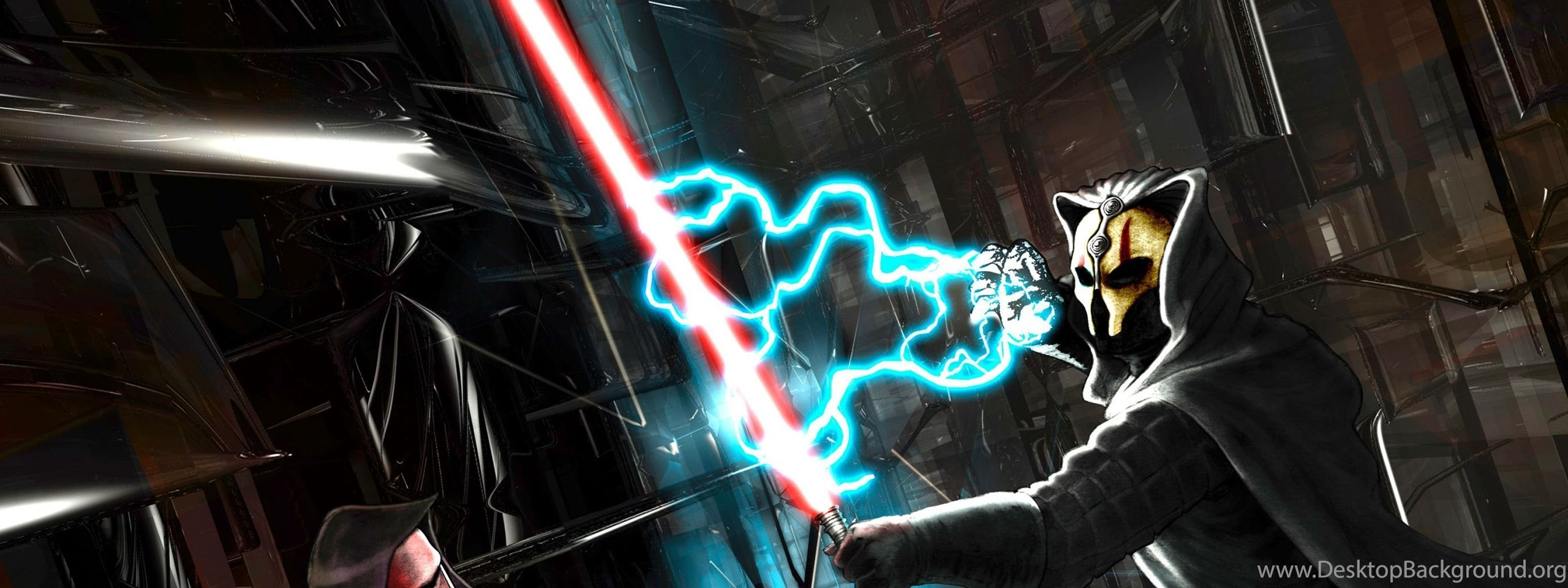 Download Wallpapers 3840x1200 Star Wars Knights Of The Old Desktop Background