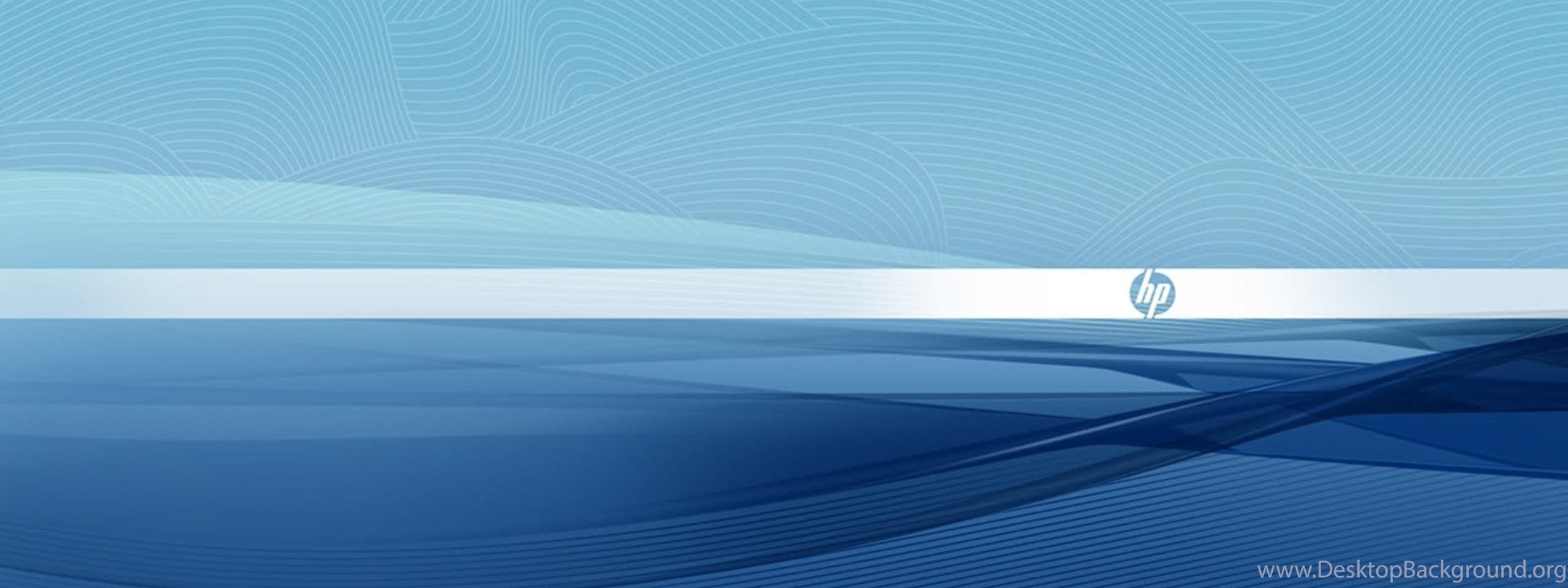 Hp Blue Wallpapers Desktop Background