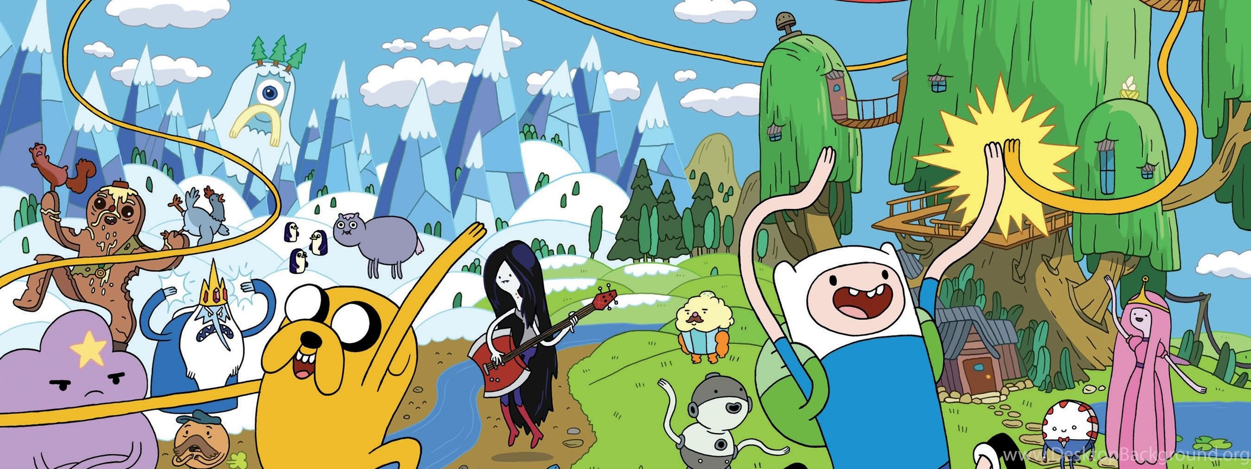 Adventure Time Wallpapers Hd Wallpapers 97645 Desktop Background