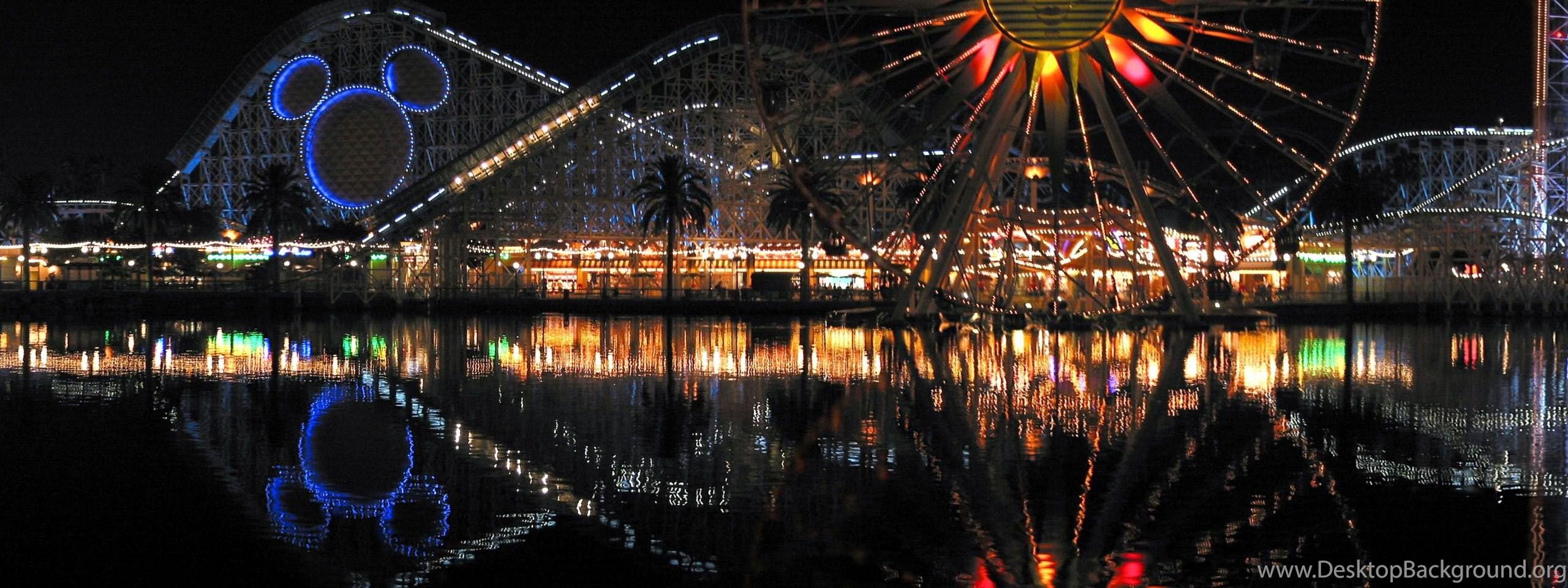 Panoramic Disneyland And Disneyworld Pictures & Satellite Maps
