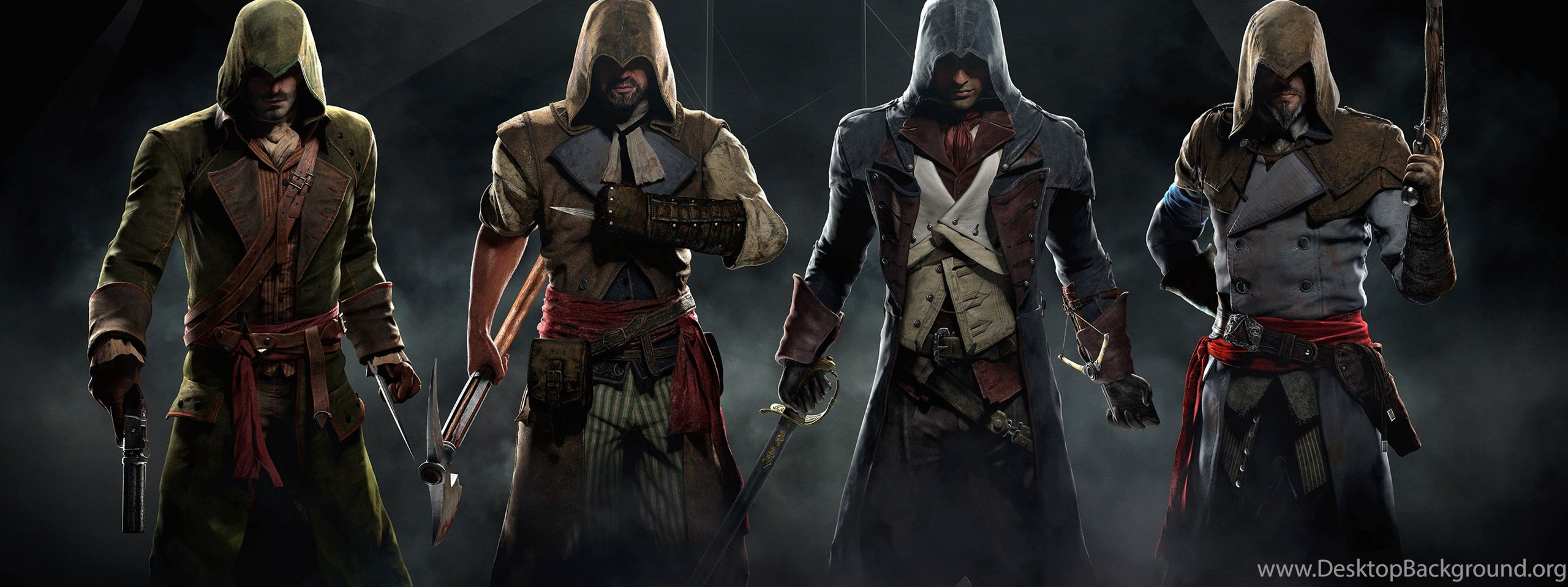 Assassin S Creed Unity Wallpapers Desktop Background
