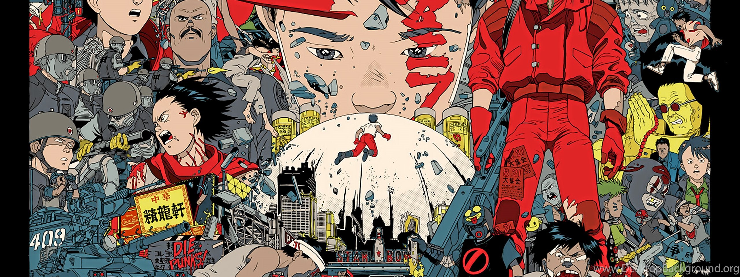 Akira HD Wallpapers And Backgrounds Desktop Background