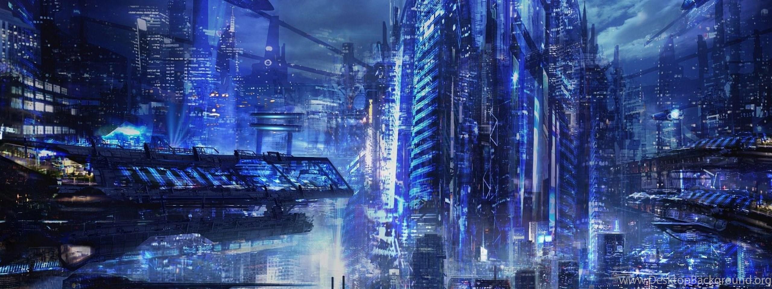 Sci Fi City Cities Artwork Art Futuristic Wallpapers Desktop