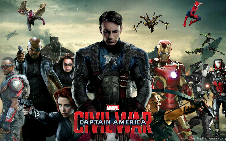 Captain America Civil War Hd Wallpapers Trailer Cast Desktop