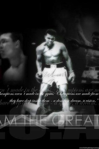 Free Hd Wallpaper Muhammad Ali Wallpapers Desktop Background