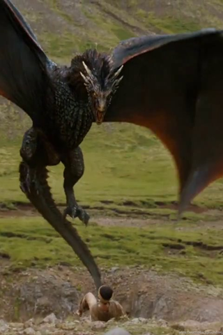 Drogon GoT's Red Dragon Fan Art Wallpapers Desktop Background