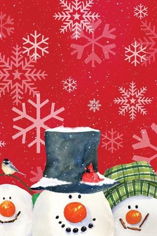 IPad Wallpapers Free Download Christmas Snowman Mini